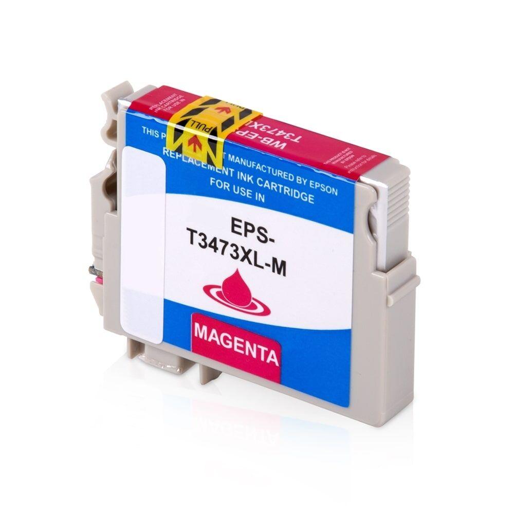Epson Cartouche d'encre pour Epson C13T34734010 / 34XL magenta compatible (de marque ASC)