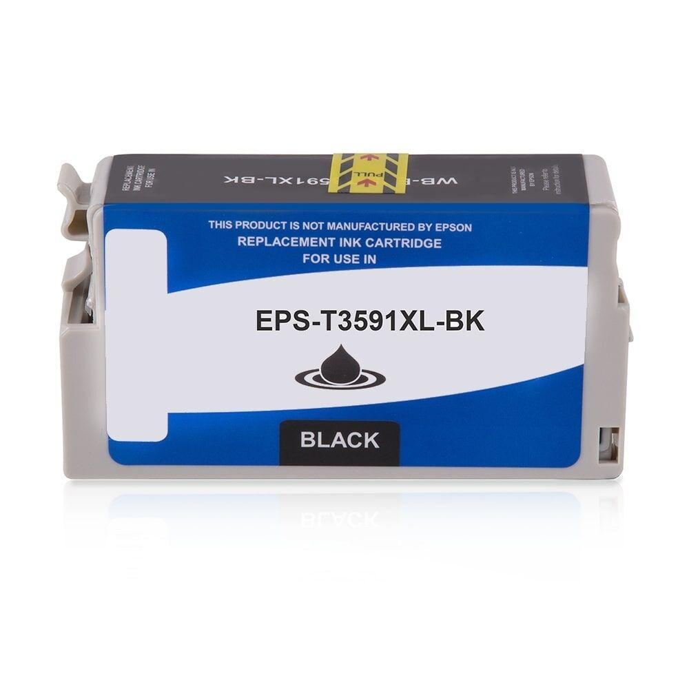 Epson Cartouche d'encre pour Epson C13T35914010 / 35XL noir compatible (de marque ASC)
