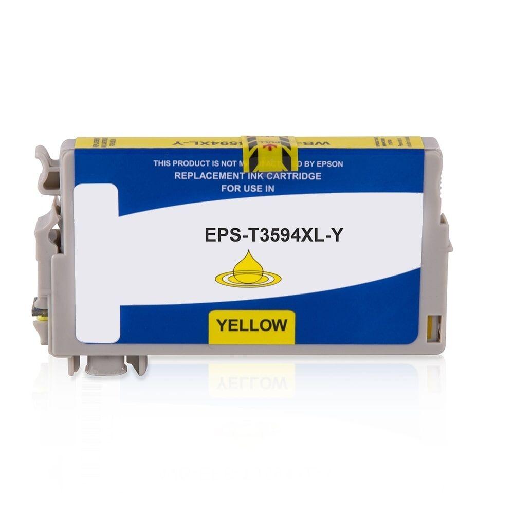 Epson Cartouche d'encre pour Epson C13T35944010 / 35XL jaune compatible (de marque ASC)