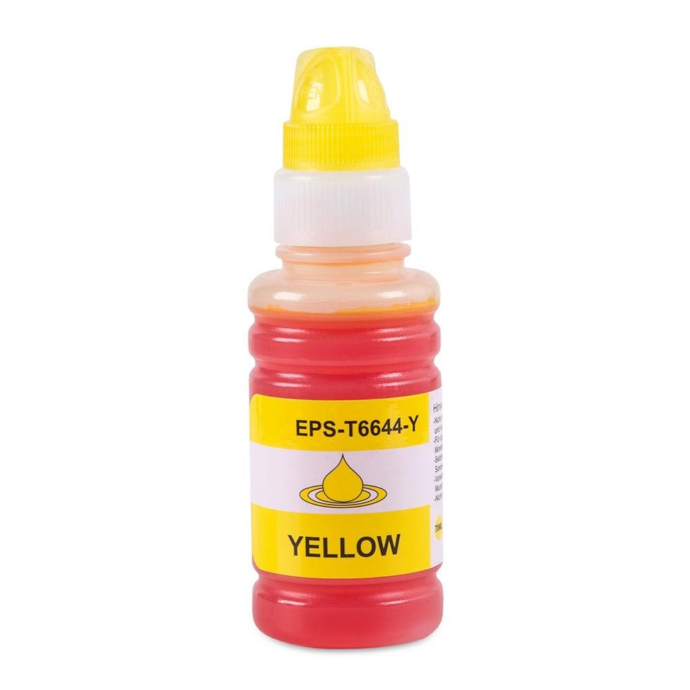 Epson Cartouche d'encre pour Epson C13T664440 / 664 jaune compatible (de marque ASC)