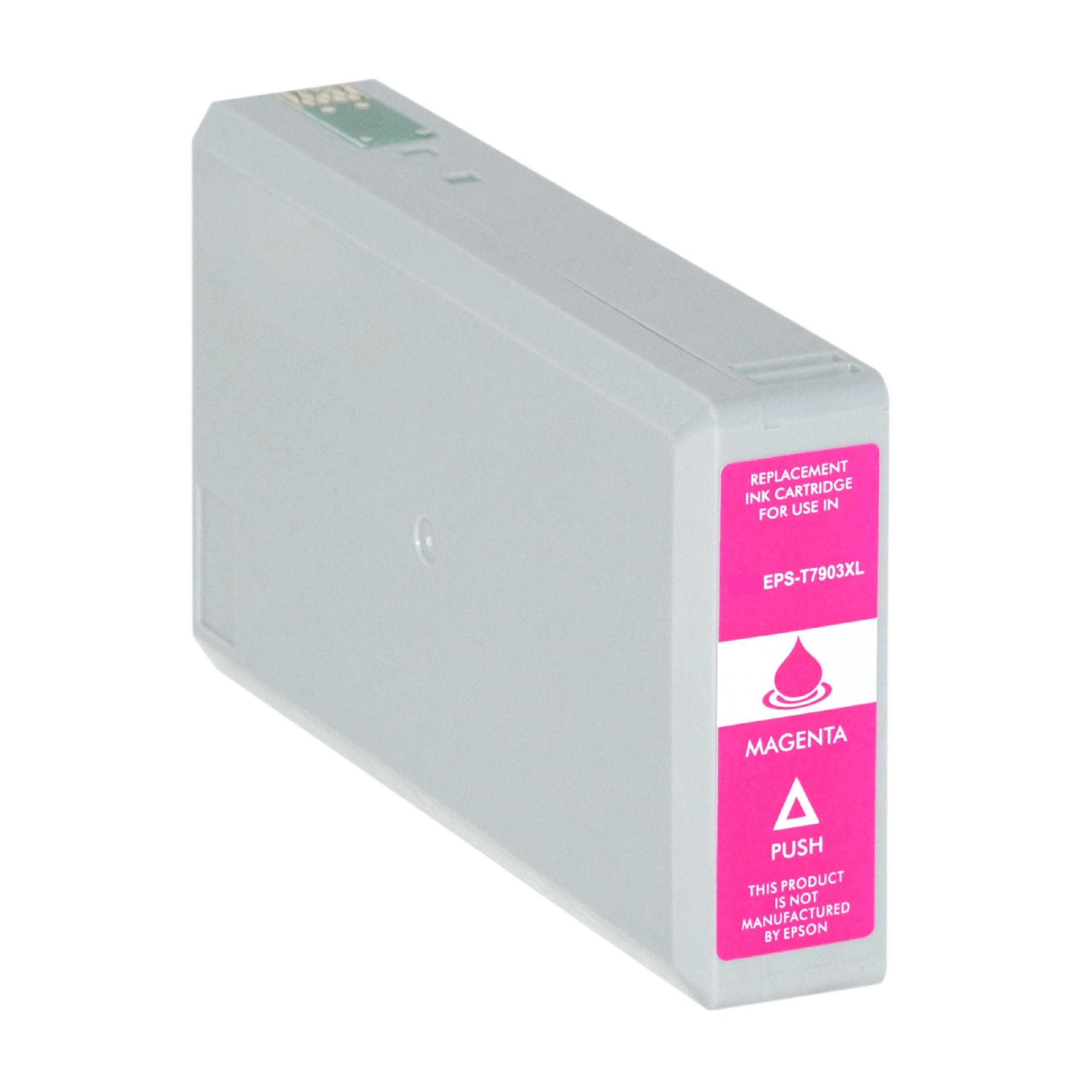 Epson Cartouche d'encre pour Epson C13T79034010 / 79XL magenta compatible (de marque ASC)