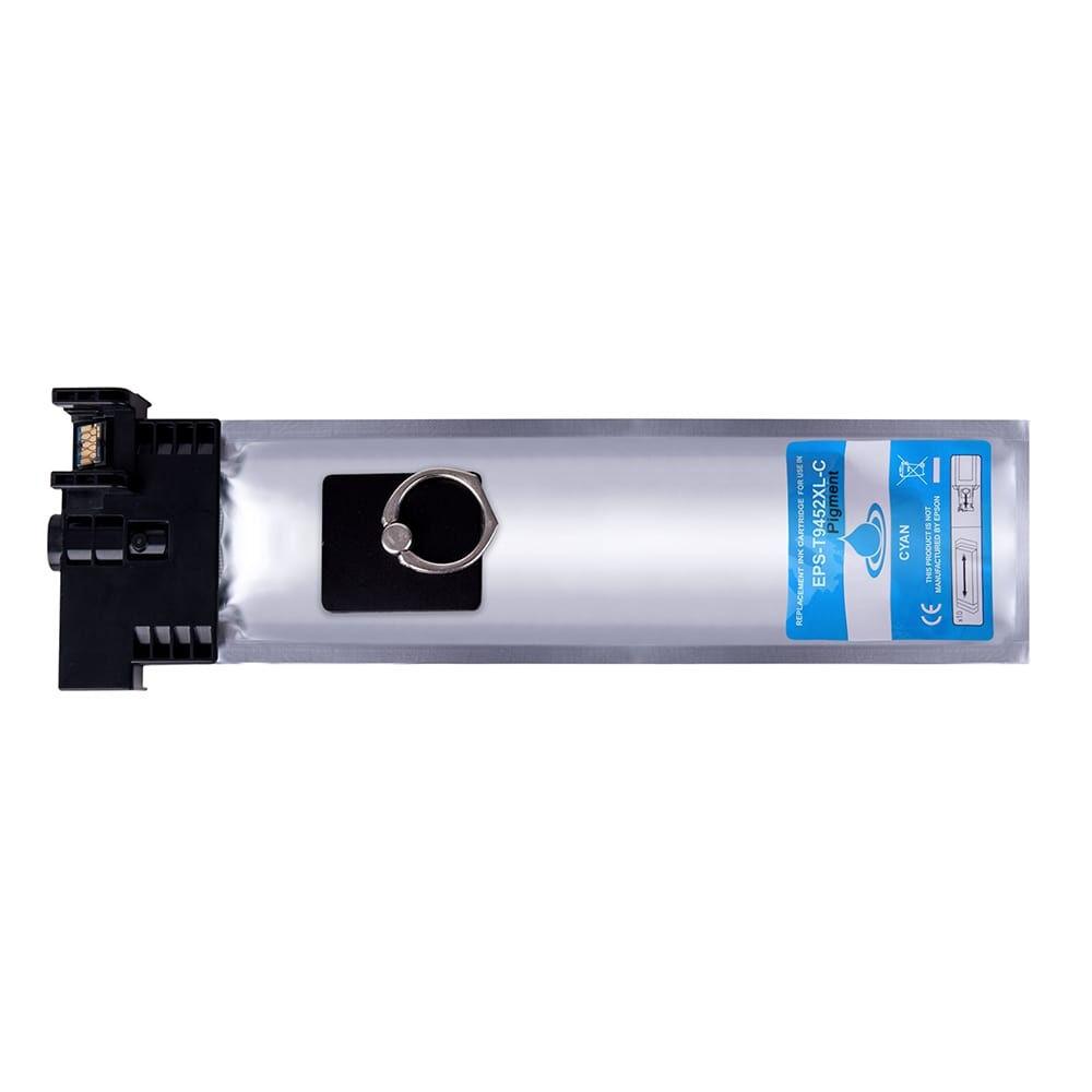 Epson Cartouche d'encre pour Epson C13T945240 / T9452 cyan compatible (de marque ASC)