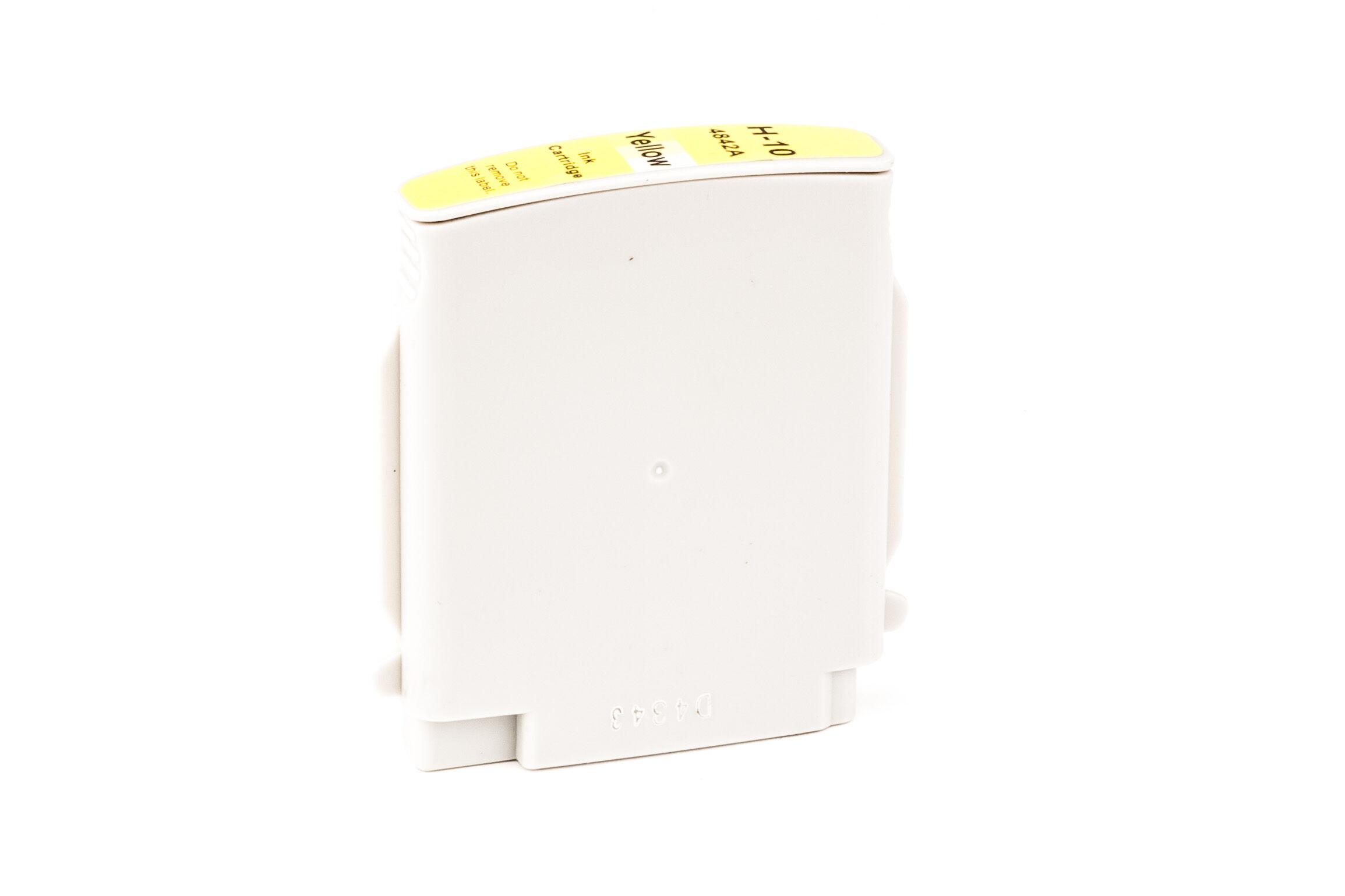 HP Cartouche d'encre pour HP C4842AE / 10 jaune compatible (de marque ASC)
