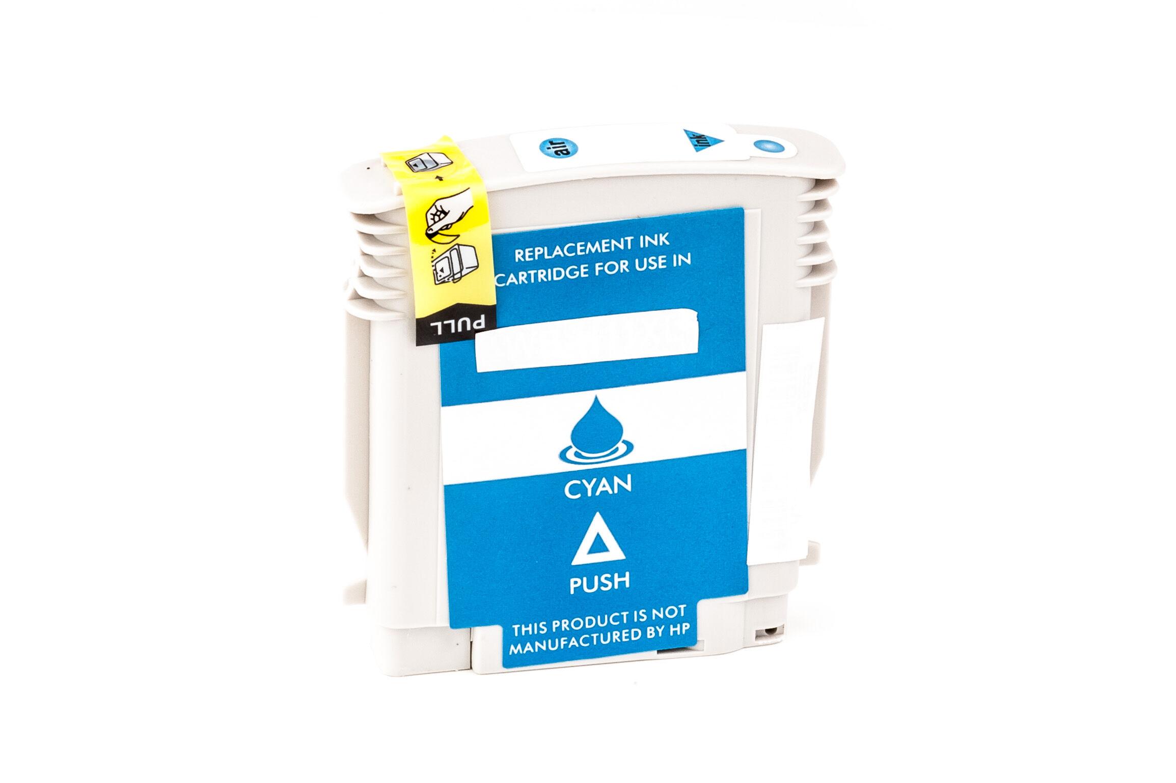 HP Cartouche d'encre pour HP C4836AE / 11 cyan compatible (de marque ASC)