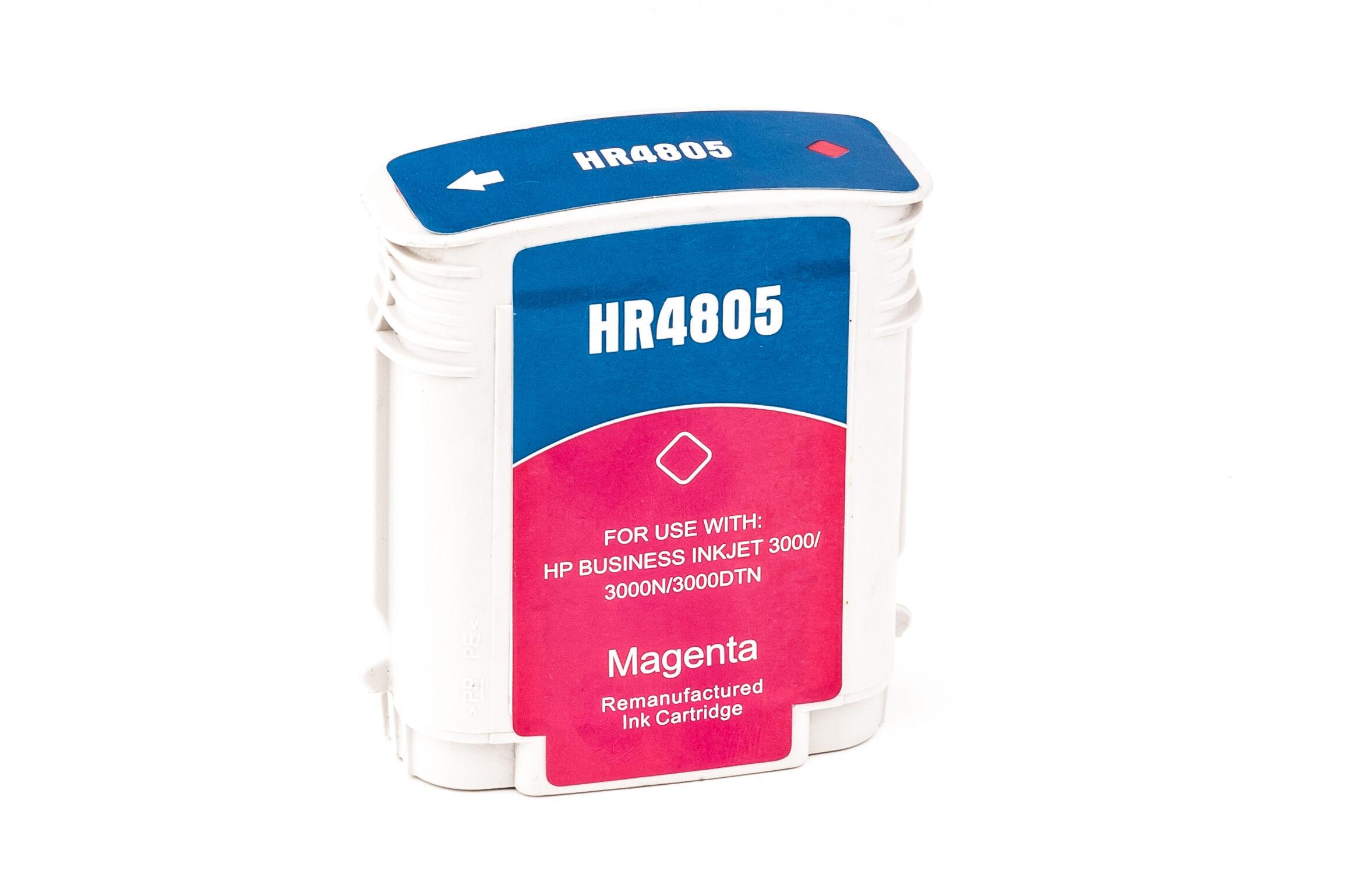 HP Cartouche d'encre pour HP C4805A / 12 magenta compatible (de marque ASC)