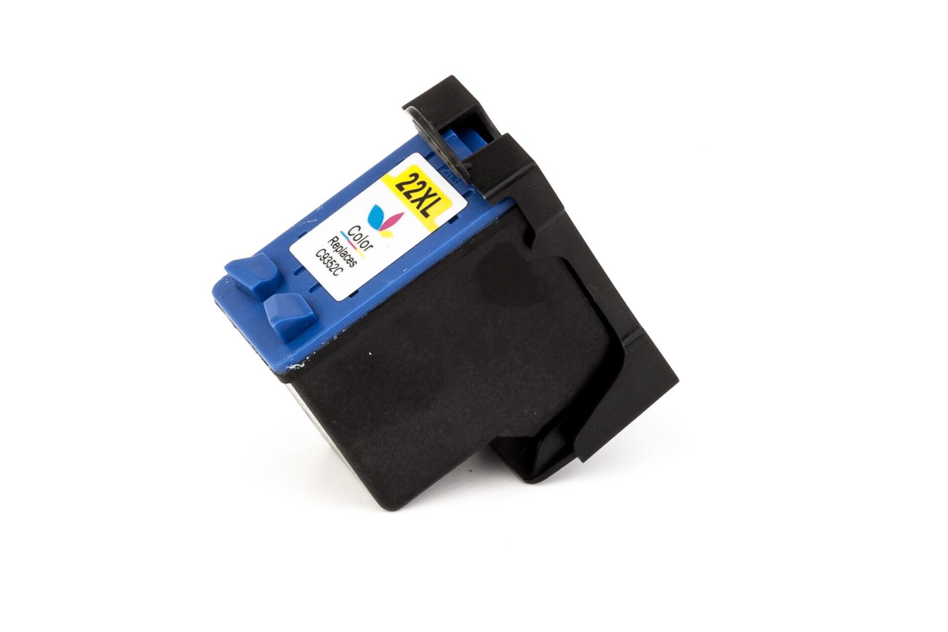 HP Cartouche d'encre pour HP C9352AE / 22 Couleur compatible (de marque ASC)