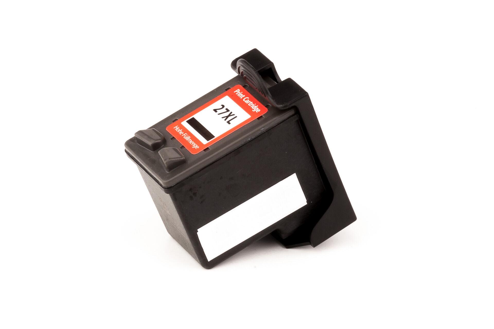 HP Cartouche d'encre pour HP C8727AE / 27 noir compatible (de marque ASC)