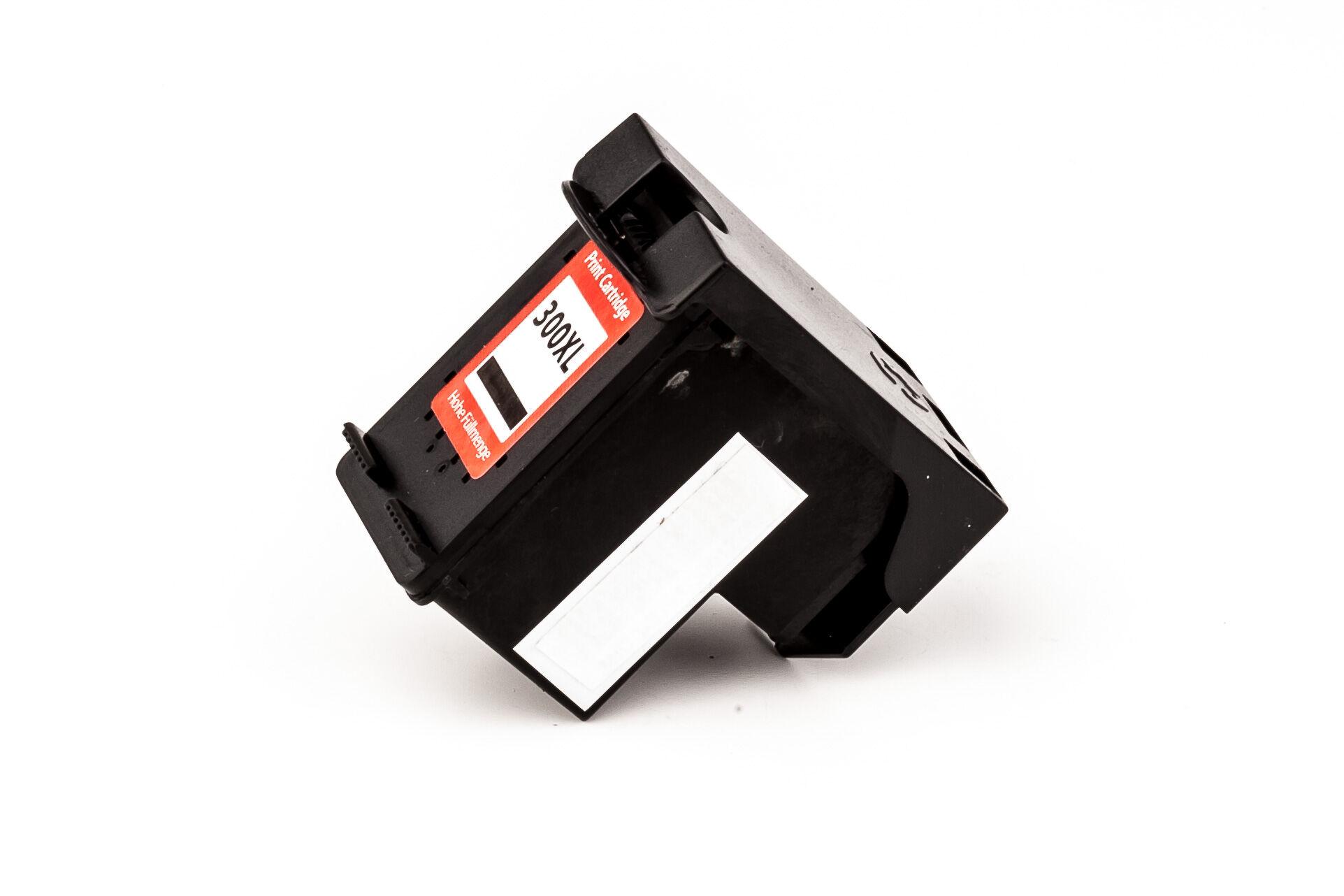 HP Cartouche d'encre pour HP CC641EE / 300XL noir compatible (de marque ASC)