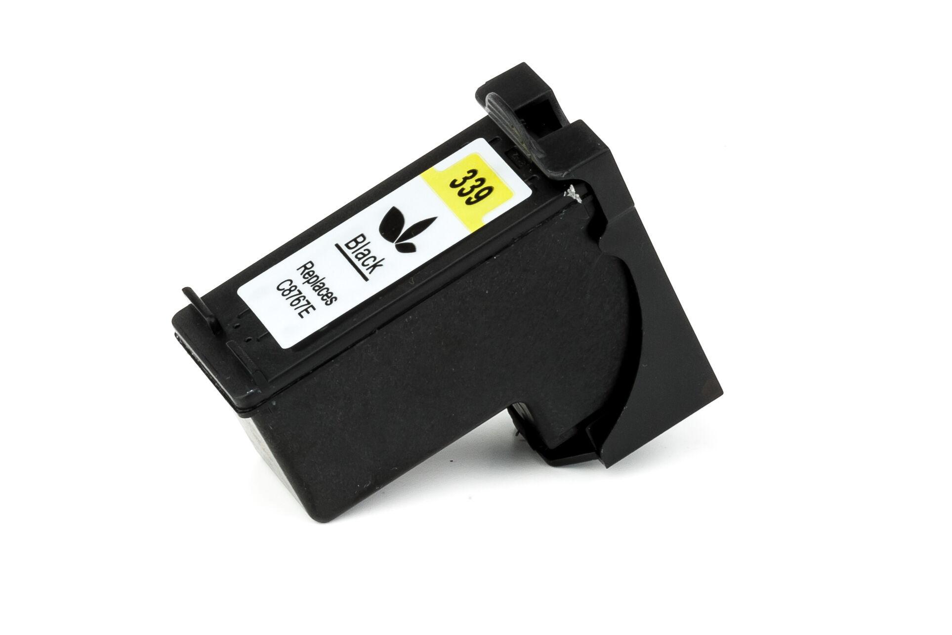 HP Cartouche d'encre pour HP C8767EE / 339 noir compatible (de marque ASC)