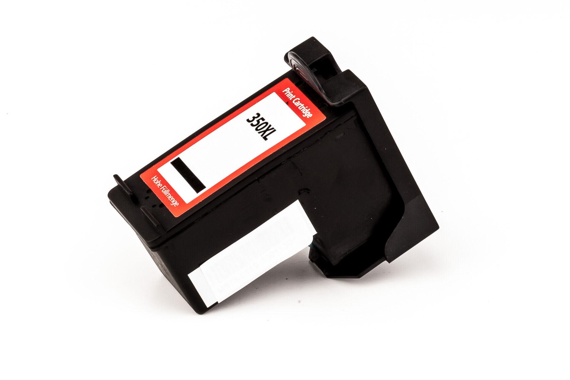 HP Cartouche d'encre pour HP CB336EE / 350XL noir compatible (de marque ASC)