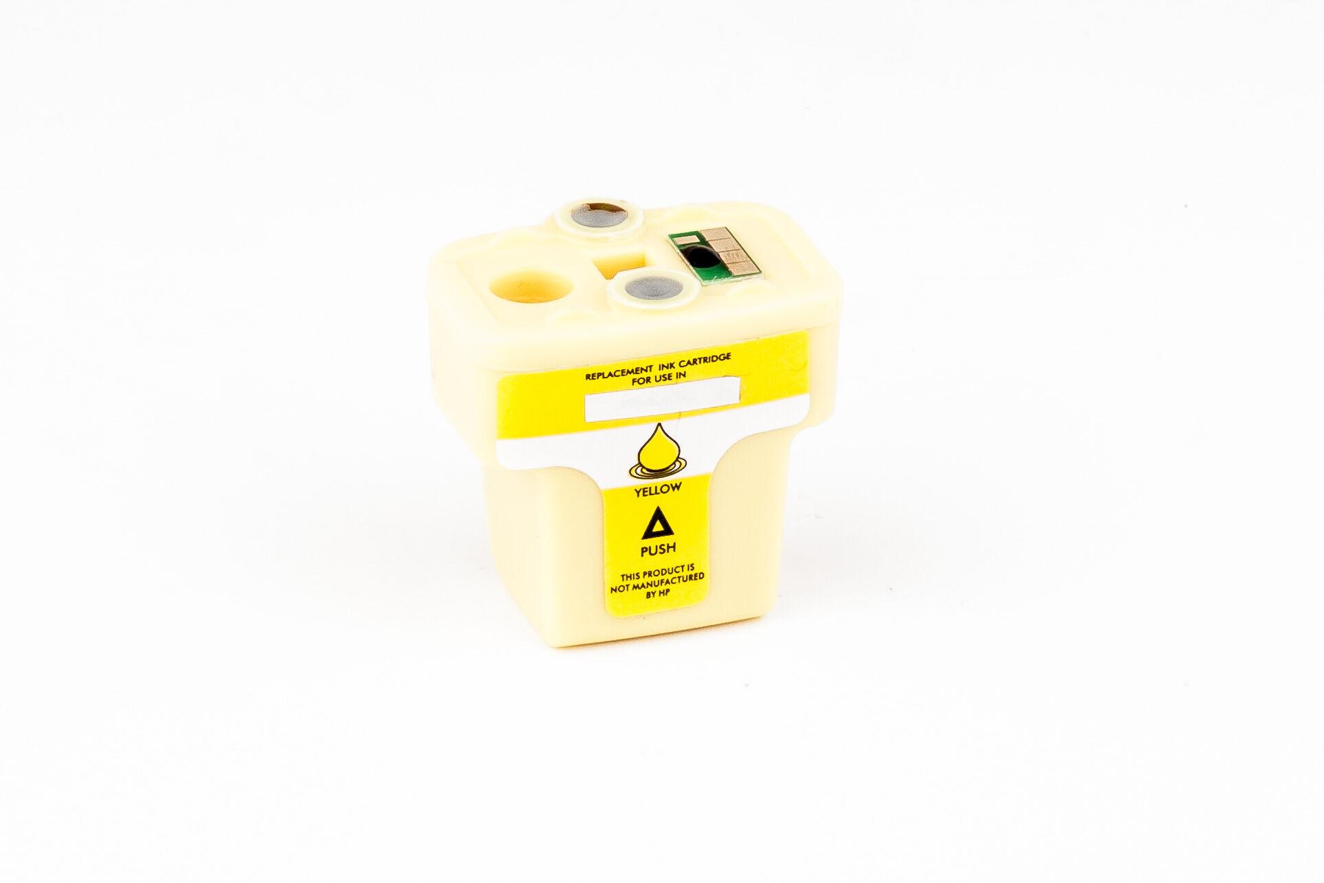 HP Cartouche d'encre pour HP C8773EE / 363 jaune compatible (de marque ASC)