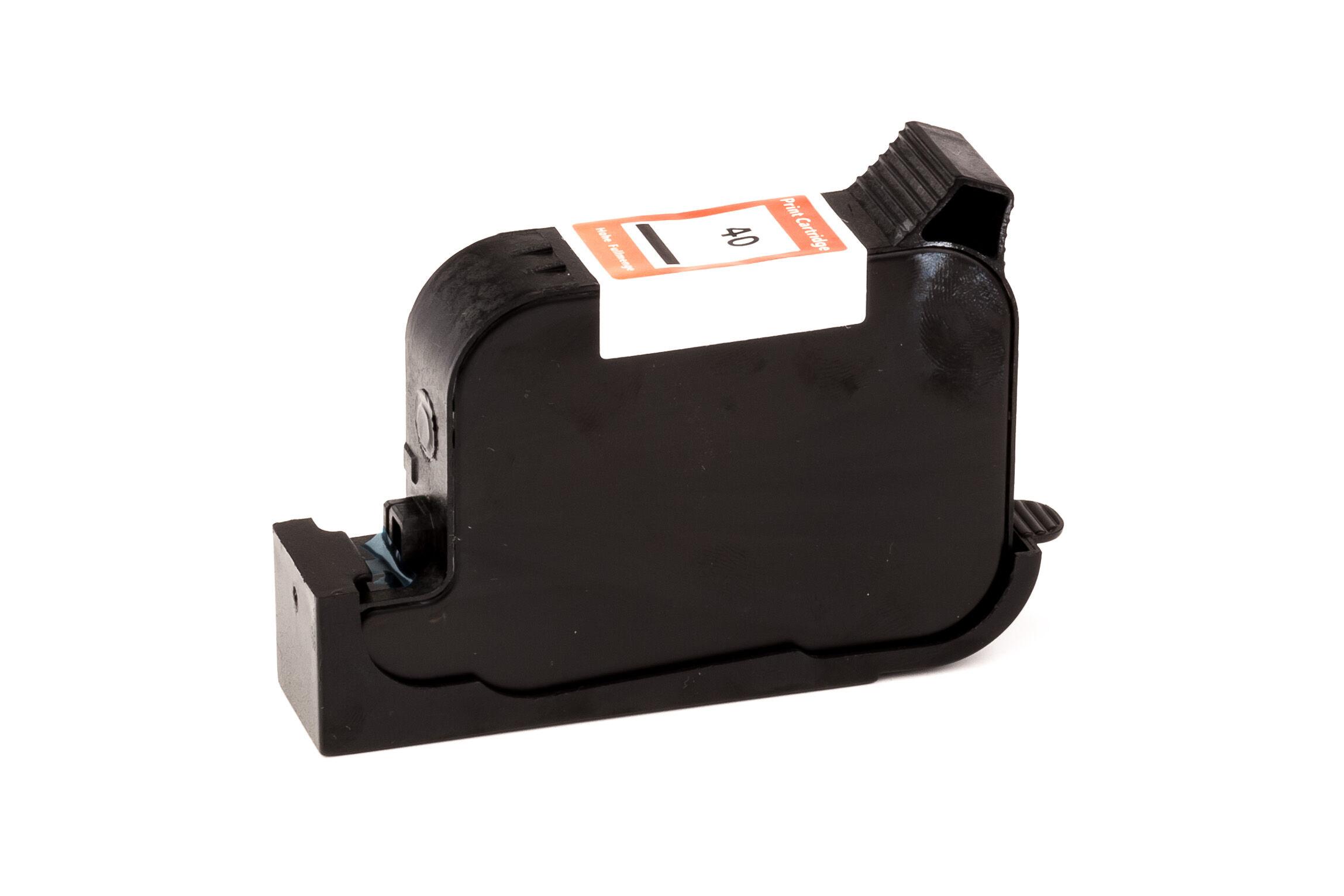HP Cartouche d'encre pour HP 51640AE / 40 noir compatible (de marque ASC)