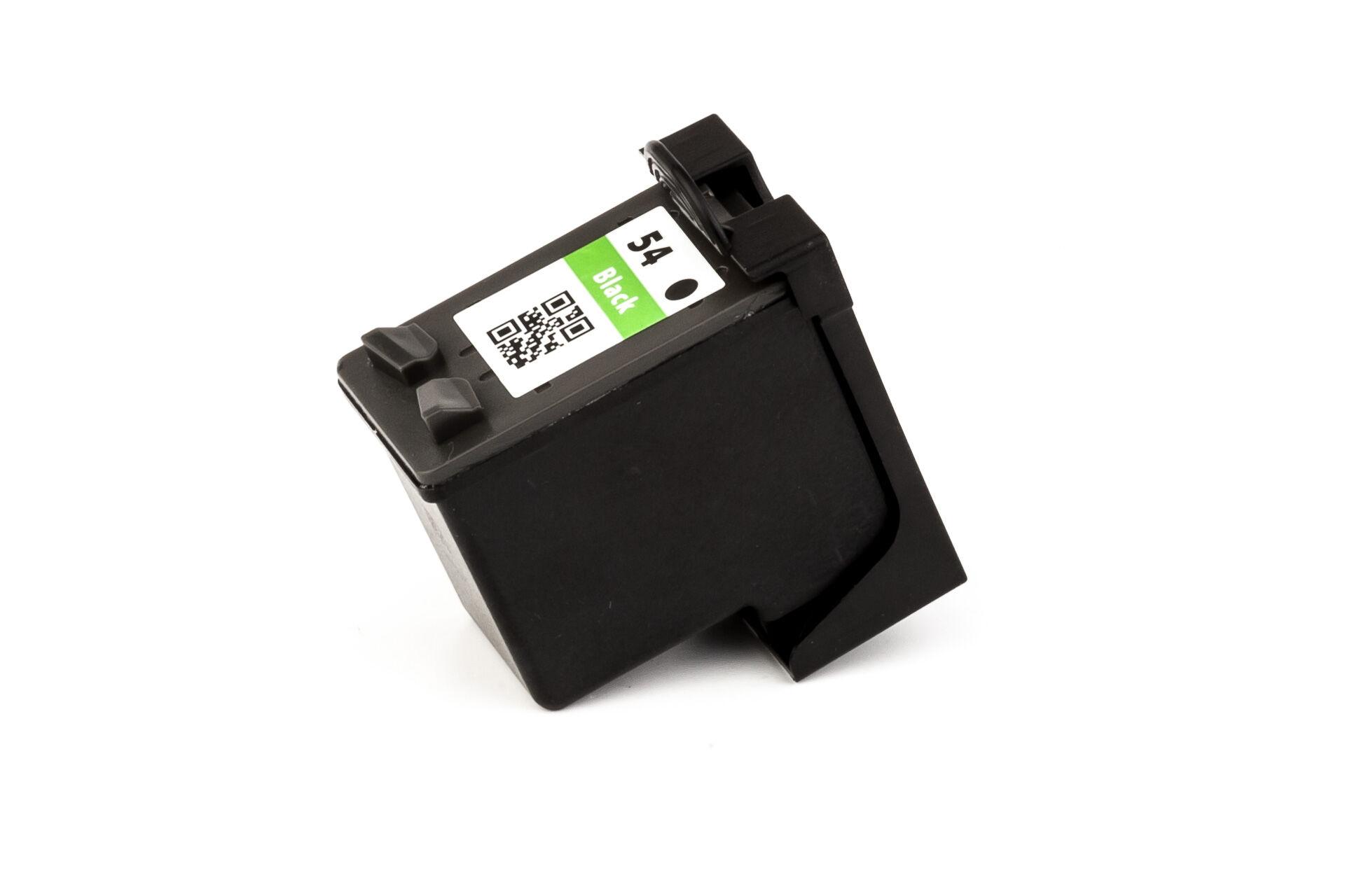 HP Cartouche d'encre pour HP CB334AE / 54 noir compatible (de marque ASC)