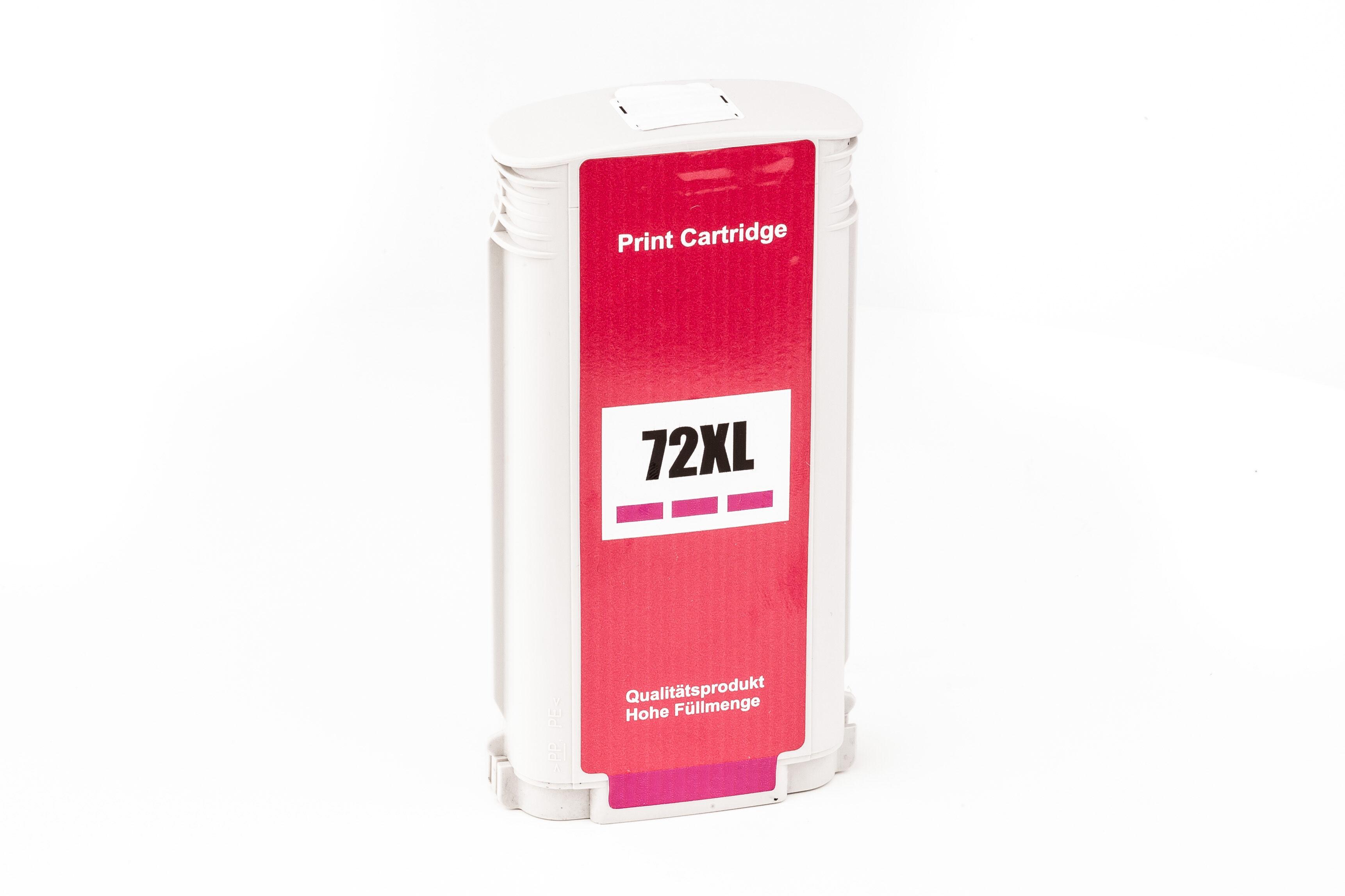 HP Cartouche d'encre pour HP C9372A / 72 magenta compatible (de marque ASC)