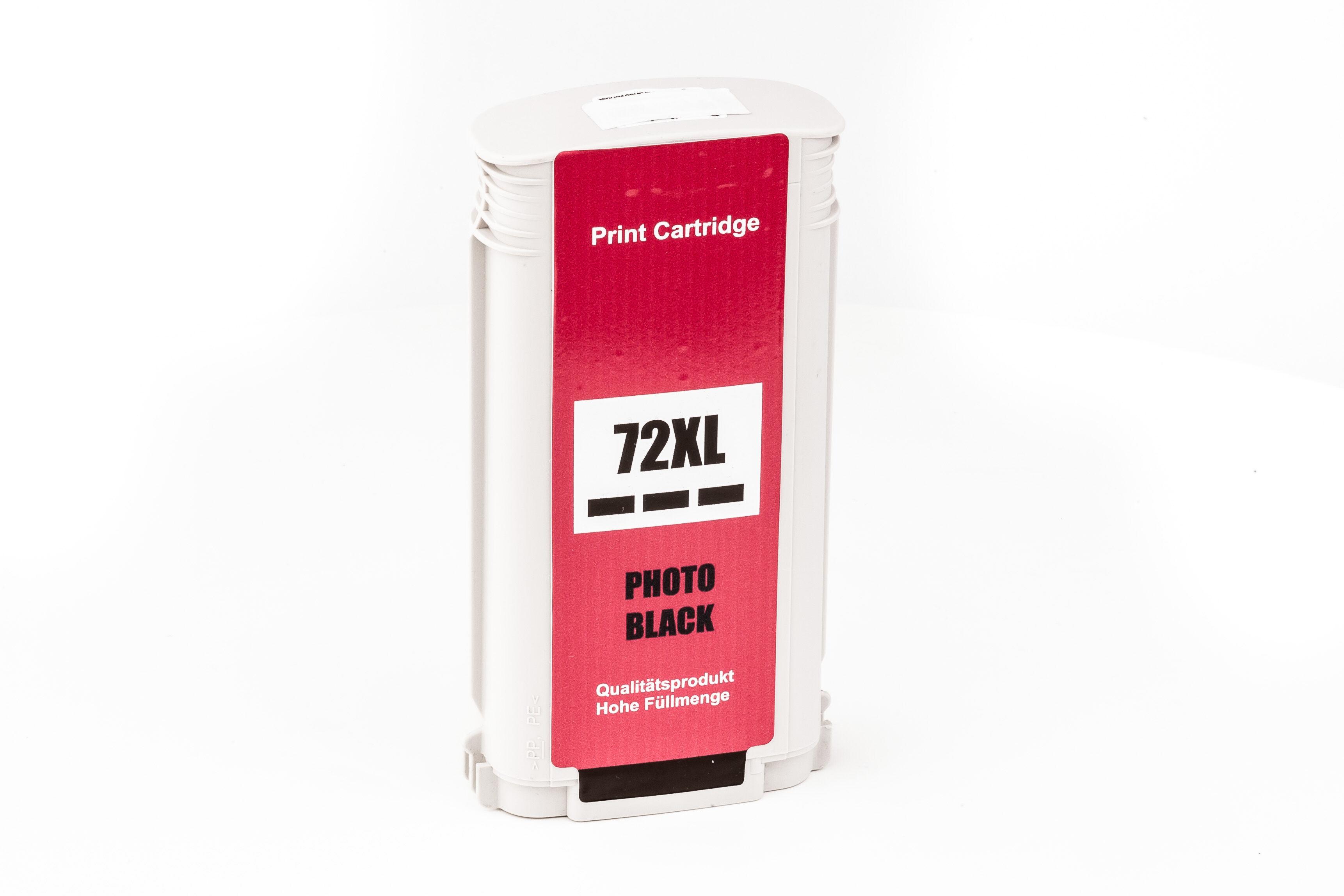 HP Cartouche d'encre pour HP C9370A / 72 noir photo compatible (de marque ASC)