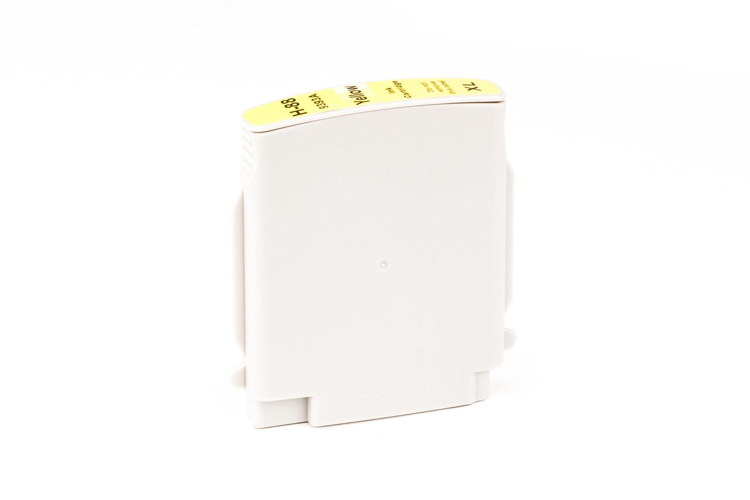 HP Cartouche d'encre pour HP C9393AE / 88XL jaune compatible (de marque ASC)