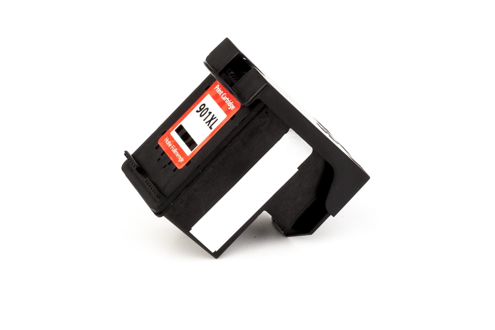 HP Cartouche d'encre pour HP CC654AE / 901XL noir compatible (de marque ASC)
