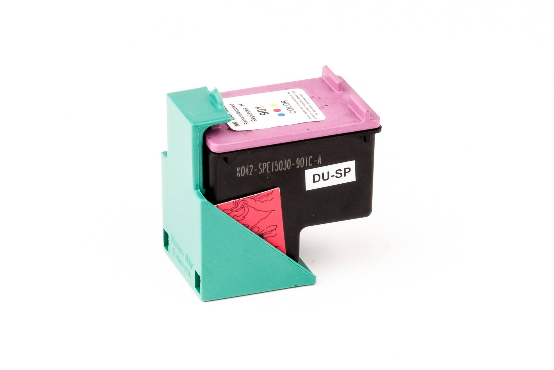 HP Cartouche d'encre pour HP CC656AE / 901 Couleur compatible (de marque ASC)
