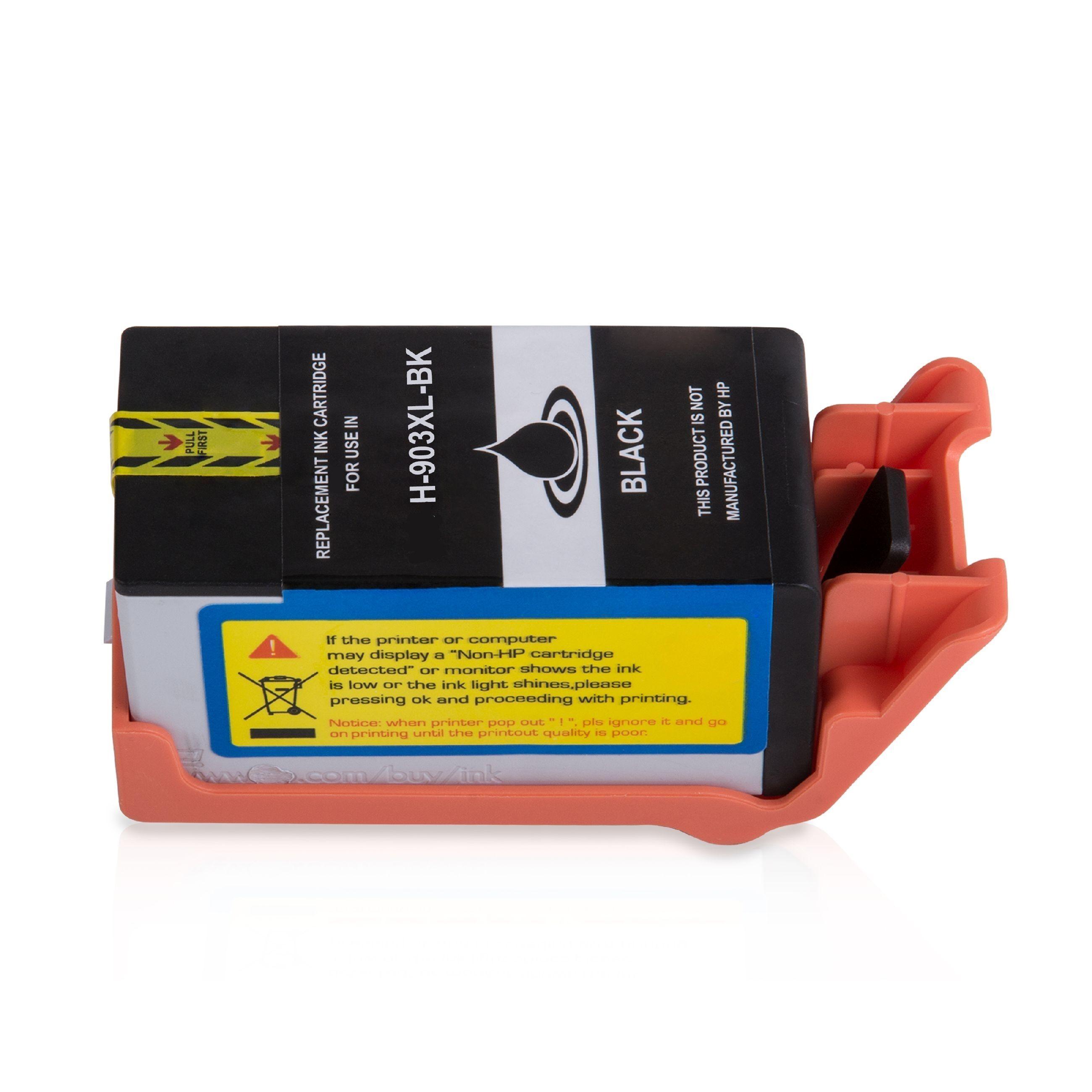 HP Cartouche d'encre pour HP T6M15AE / 903XL noir compatible (de marque ASC)