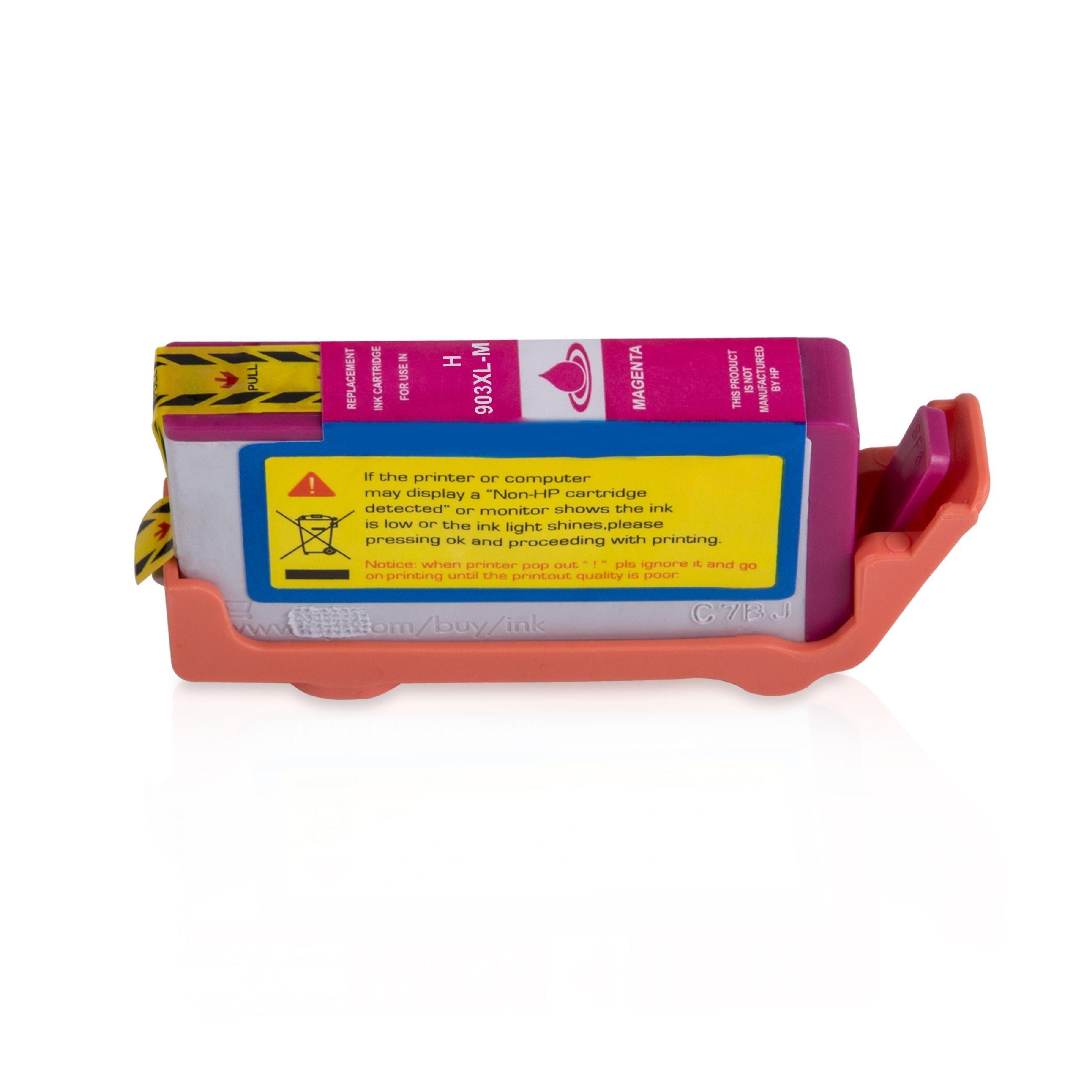 HP Cartouche d'encre pour HP T6M07AE / 903XL magenta compatible (de marque ASC)