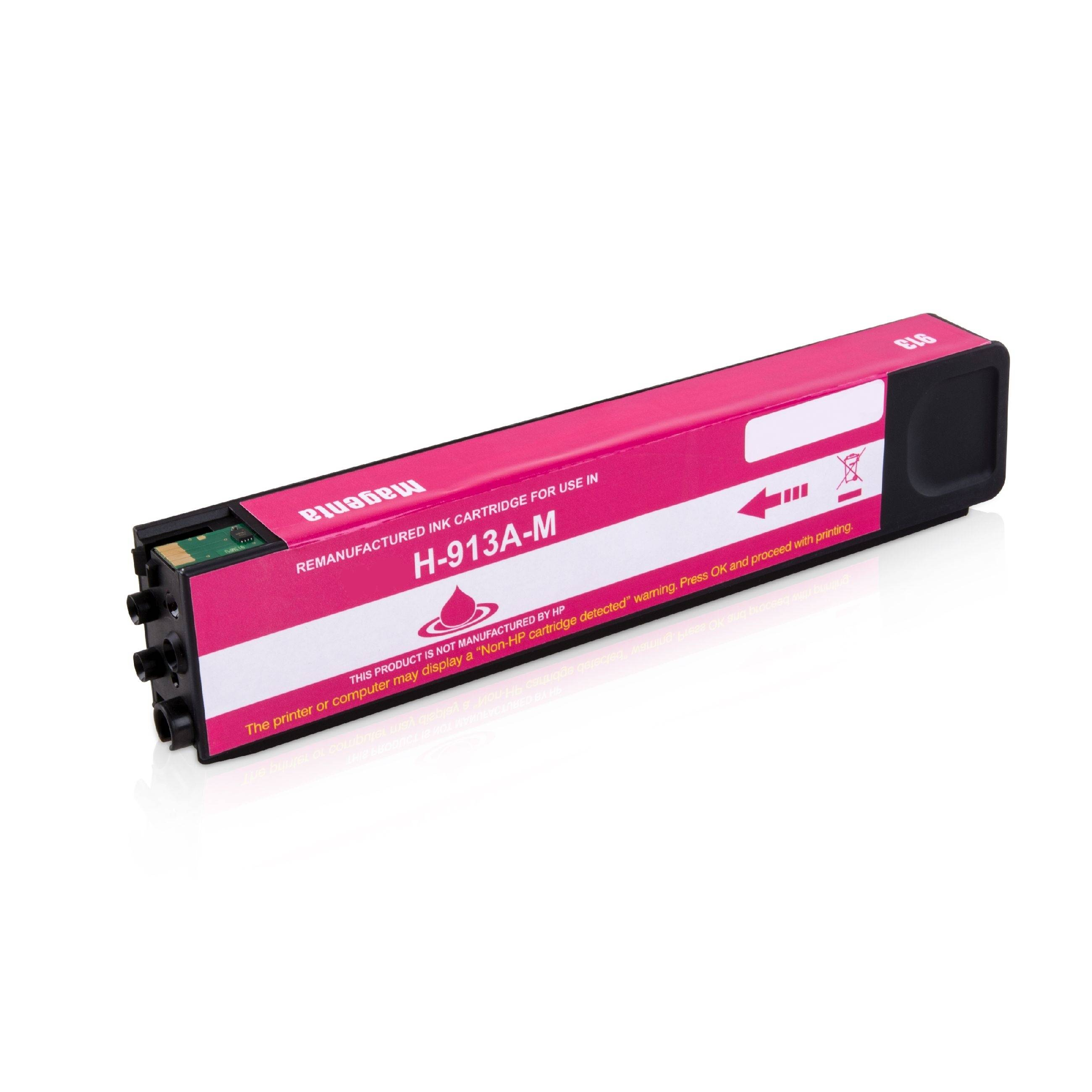 HP Cartouche d'encre pour HP F6T78AE / 913A magenta compatible (de marque ASC)