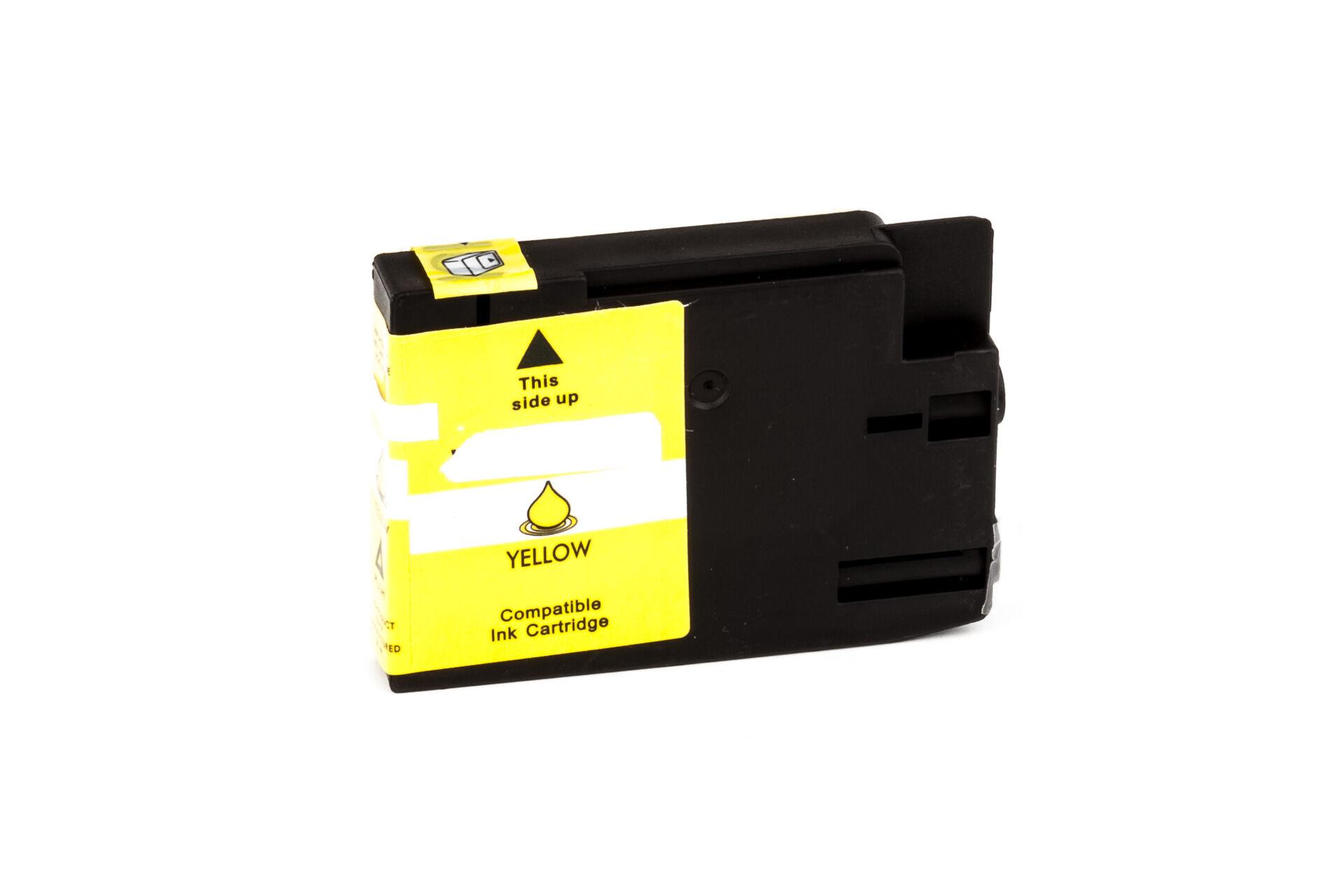 HP Cartouche d'encre pour HP CN056AE / 933XL jaune compatible (de marque ASC)