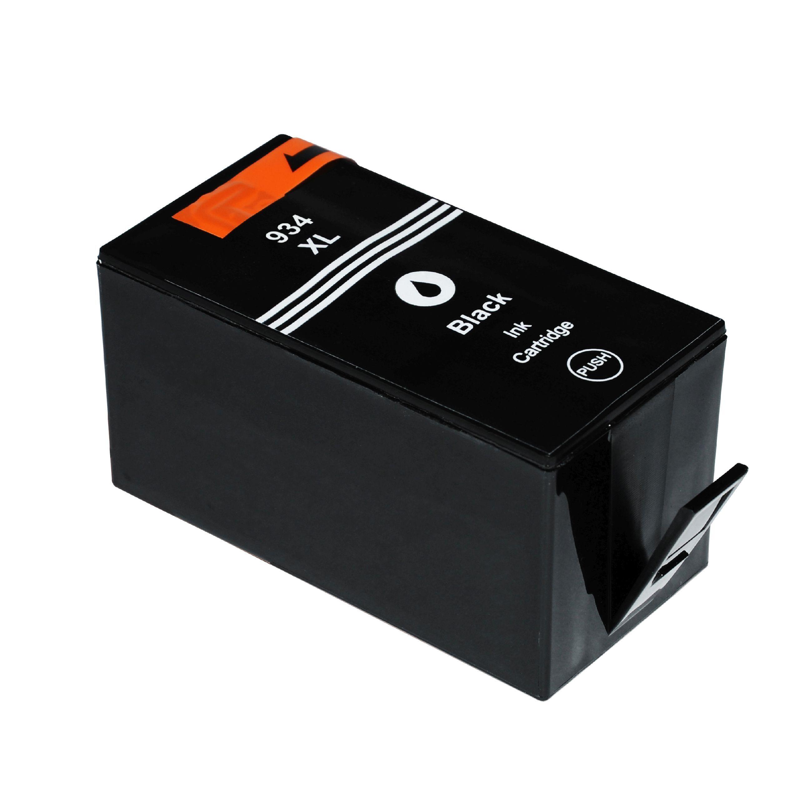 HP Cartouche d'encre pour HP C2P23AE / 934XL noir compatible (de marque ASC)