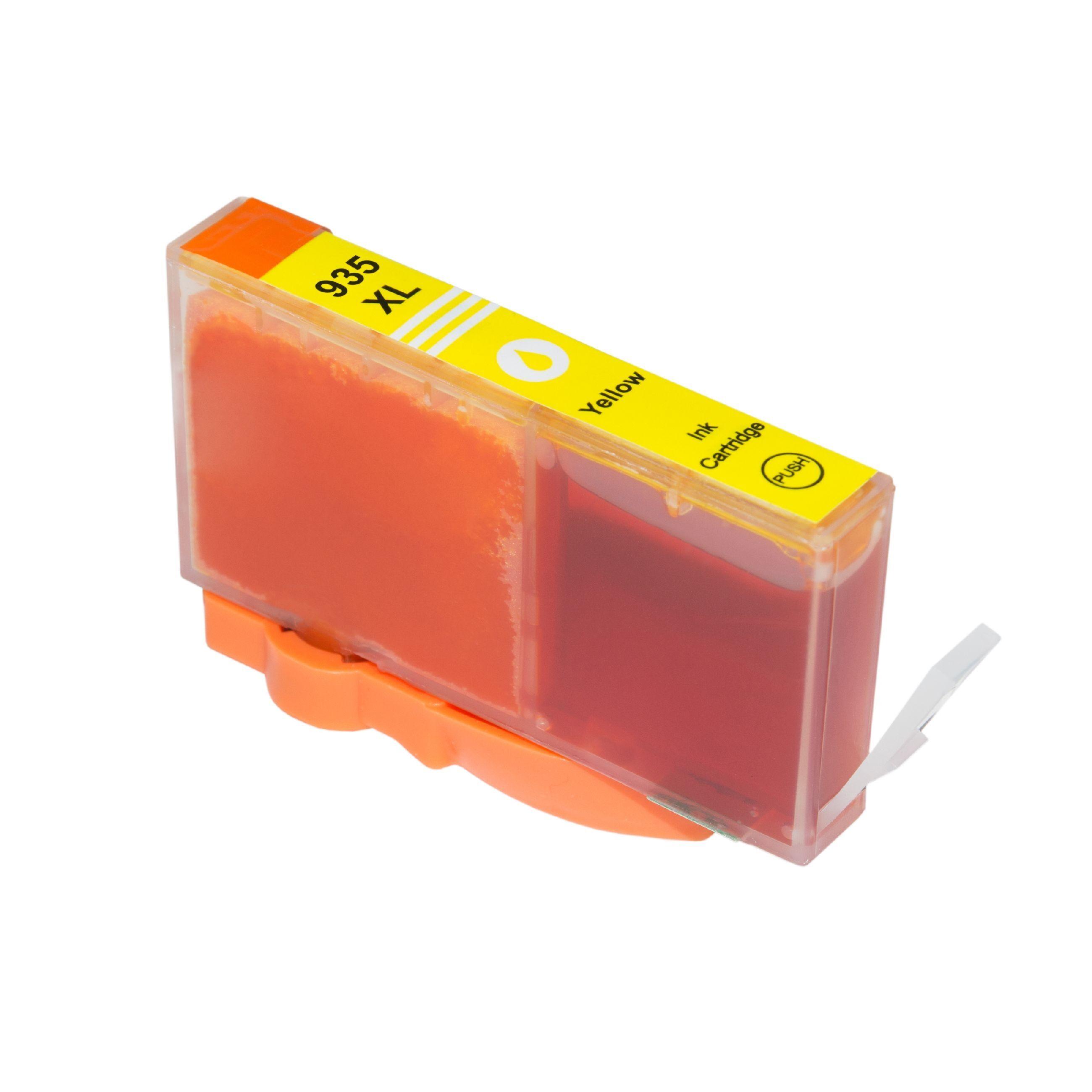HP Cartouche d'encre pour HP C2P26AE / 935XL jaune compatible (de marque ASC)