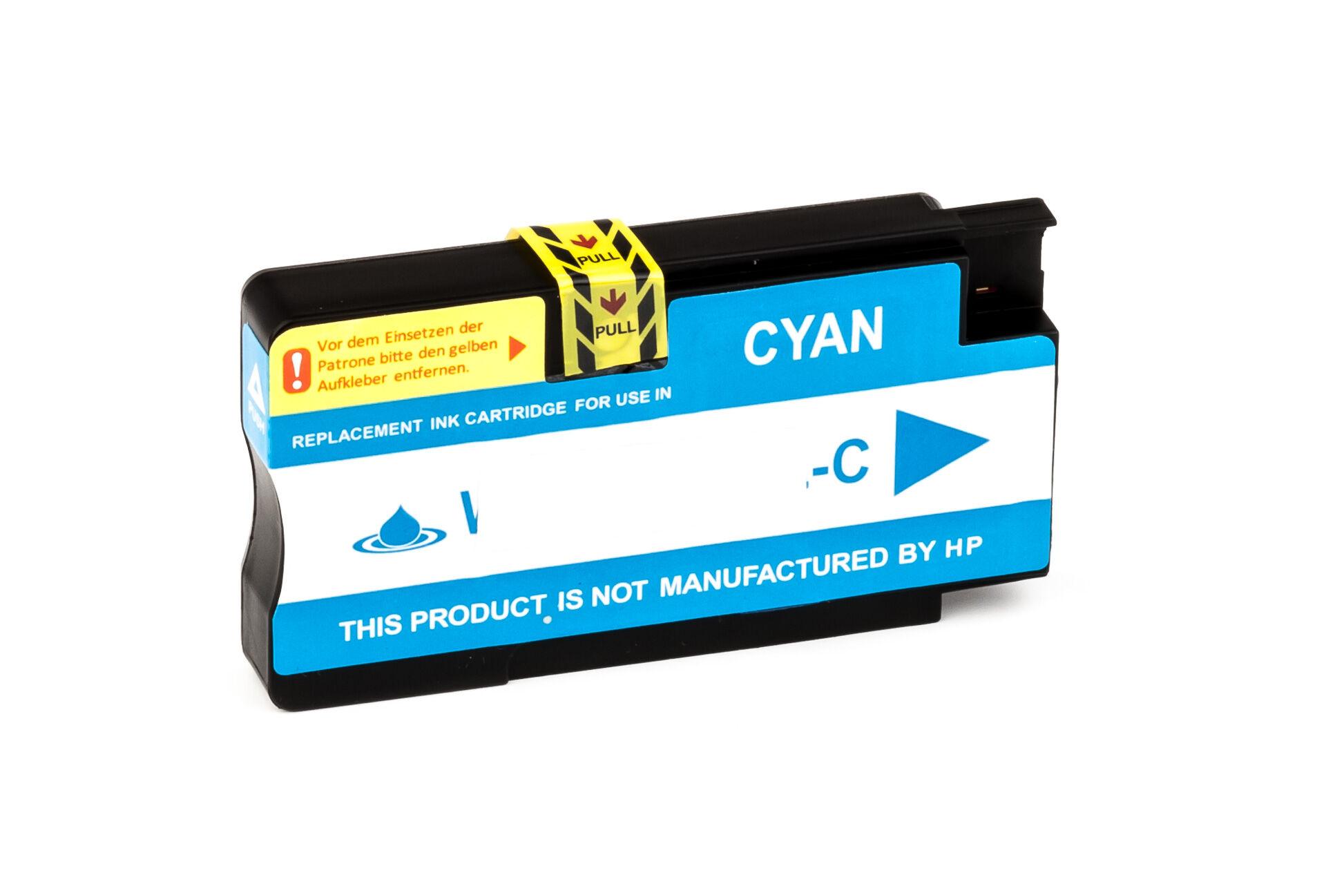 HP Cartouche d'encre pour HP CN046AE / 951XL cyan compatible (de marque ASC)
