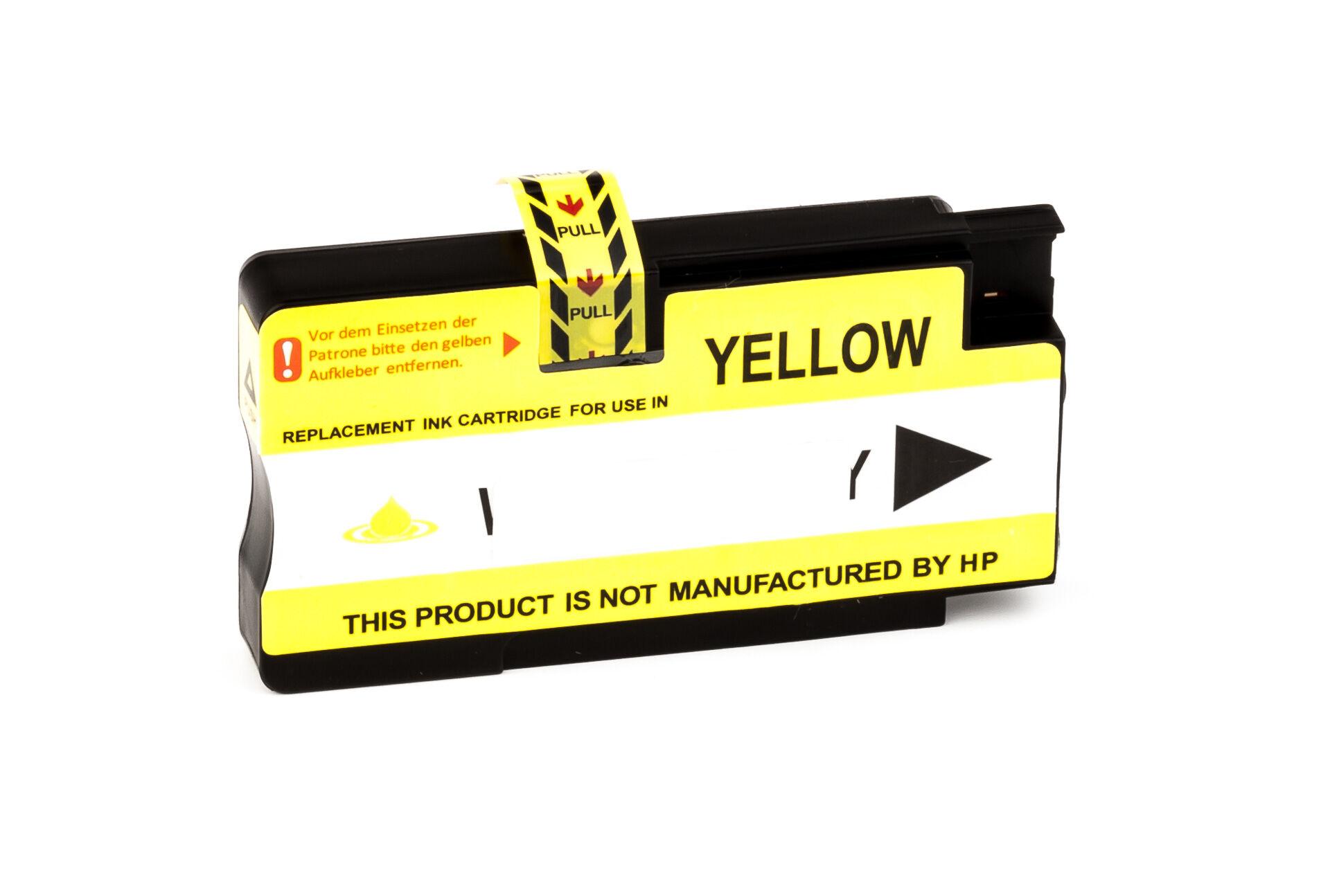HP Cartouche d'encre pour HP CN048AE / 951XL jaune compatible (de marque ASC)