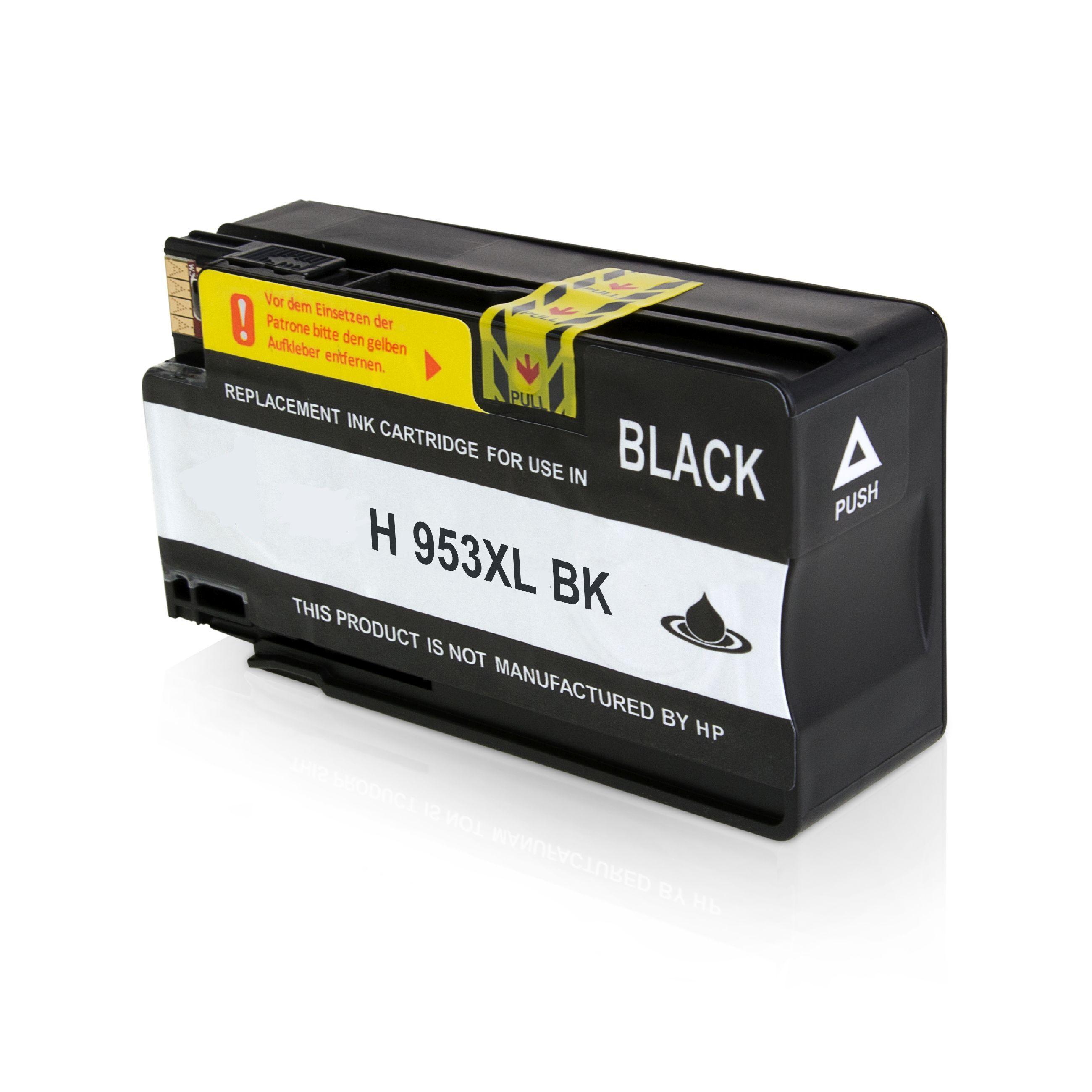HP Cartouche d'encre pour HP L0S70AE / 953XL noir compatible (de marque ASC)