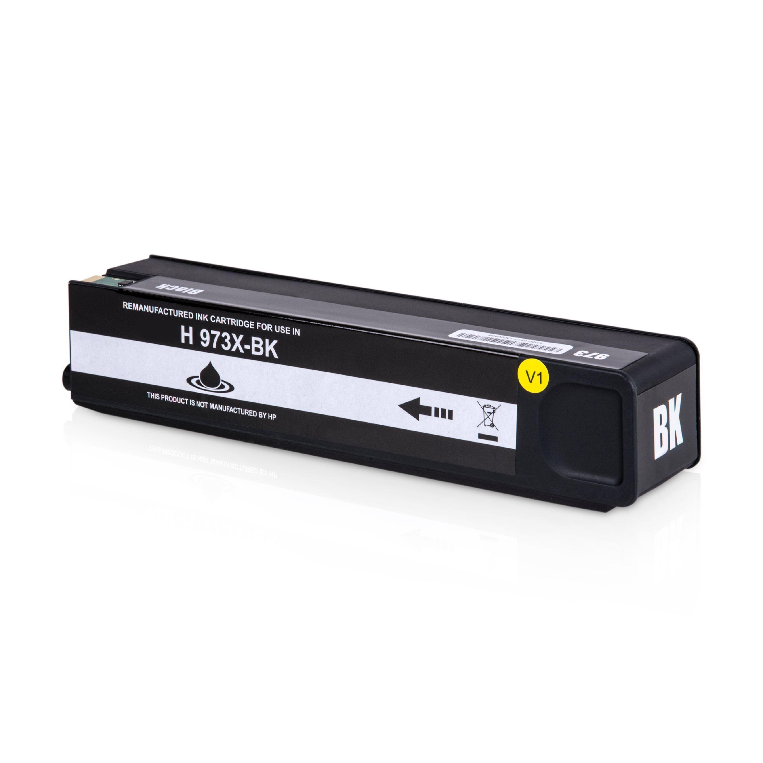 HP Cartouche d'encre pour HP L0S07AE / 973X noir compatible (de marque ASC)