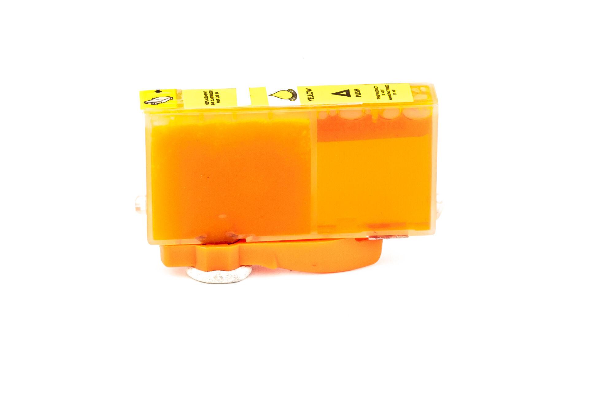 HP Cartouche d'encre pour HP CB325EE / 364XL jaune compatible (de marque ASC)