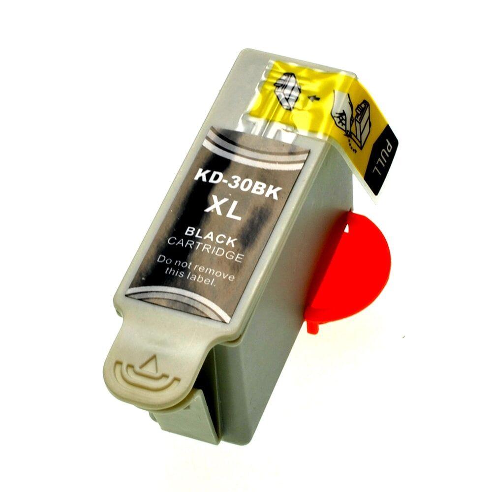 Kodak Cartouche d'encre pour Kodak 3952363 / 30XL noir compatible (de marque ASC)