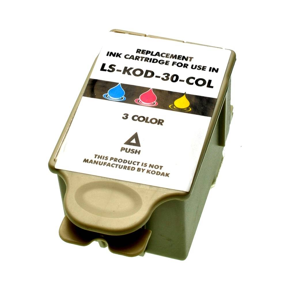 Kodak Cartouche d'encre pour Kodak 3952371 / 30XL Couleur compatible (de marque ASC)