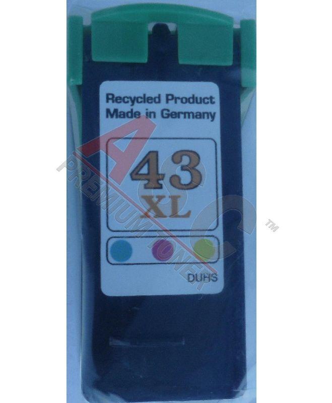 Lexmark Cartouche d'encre pour Lexmark 18Y0143E / 43 Couleur compatible (de marque ASC)
