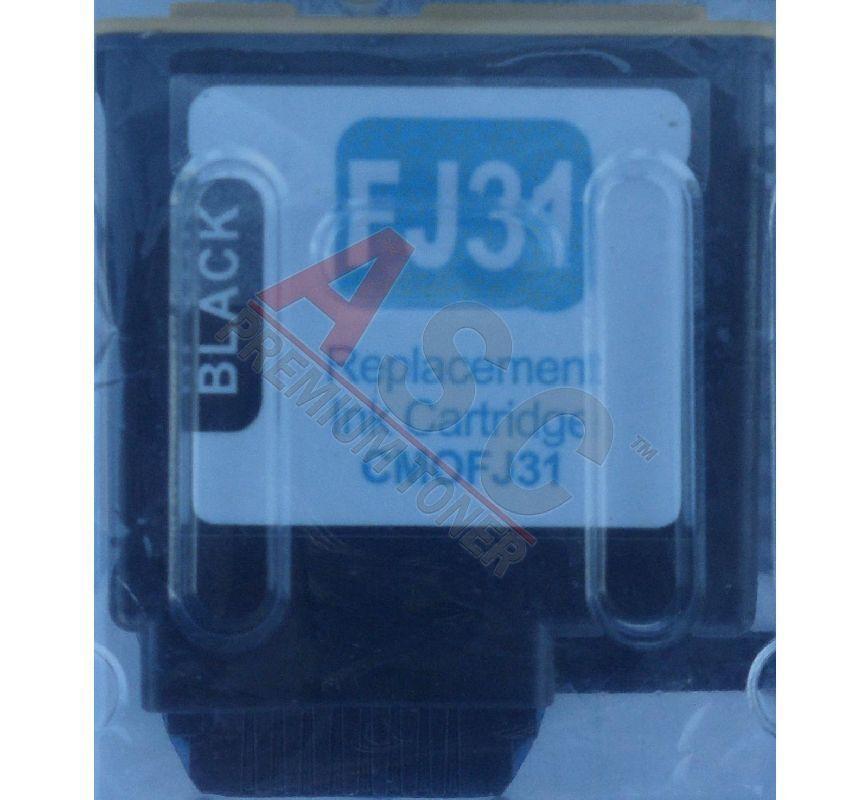 Olivetti Cartouche d'encre pour Olivetti B0336 / FJ31 noir compatible (de marque ASC)