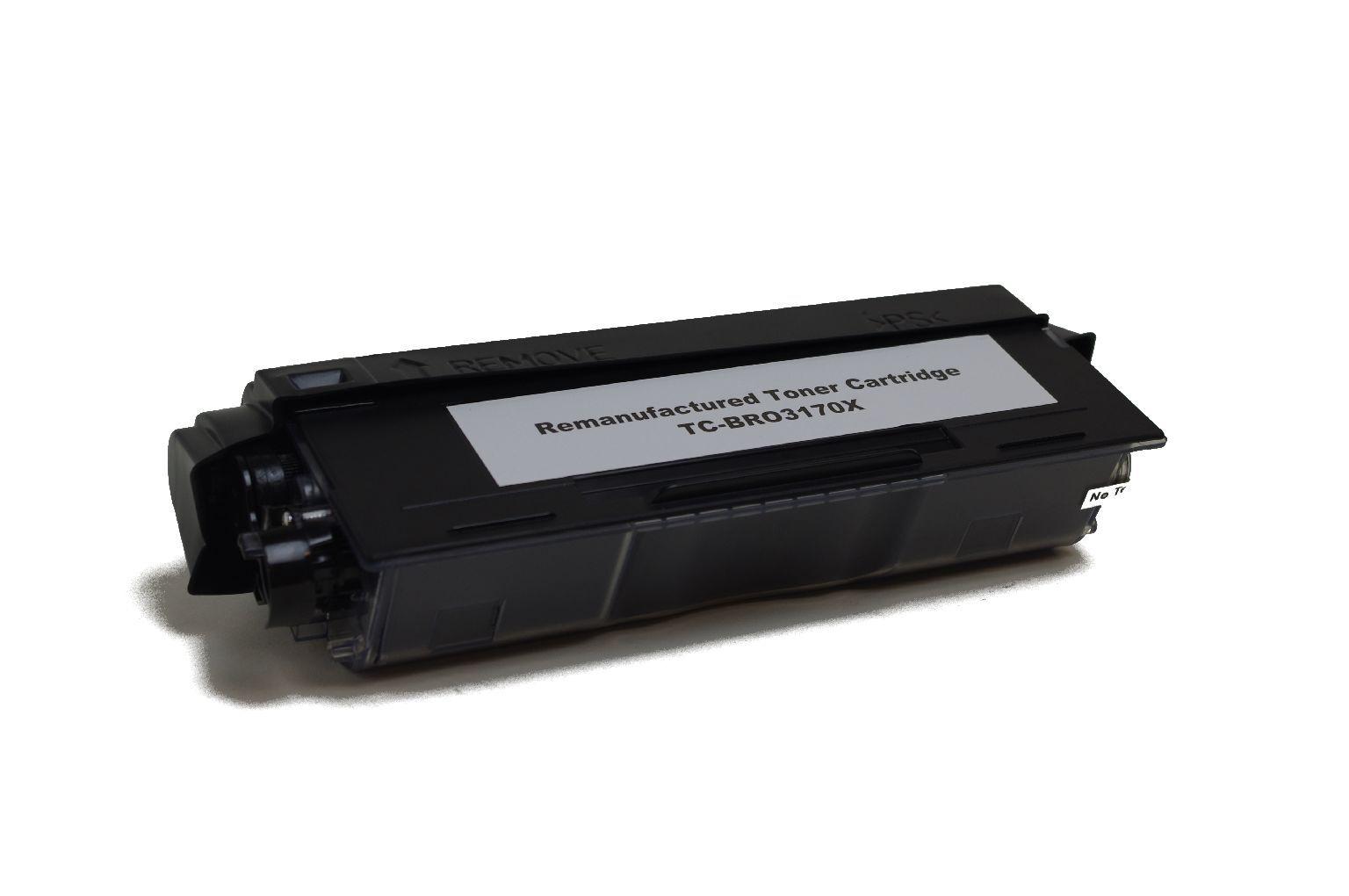 Brother Cartouche de Toner pour Brother TN3170 noir compatible (de marque ASC)