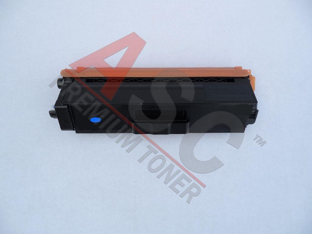 Brother Cartouche de Toner pour Brother TN320C cyan compatible (de marque ASC)