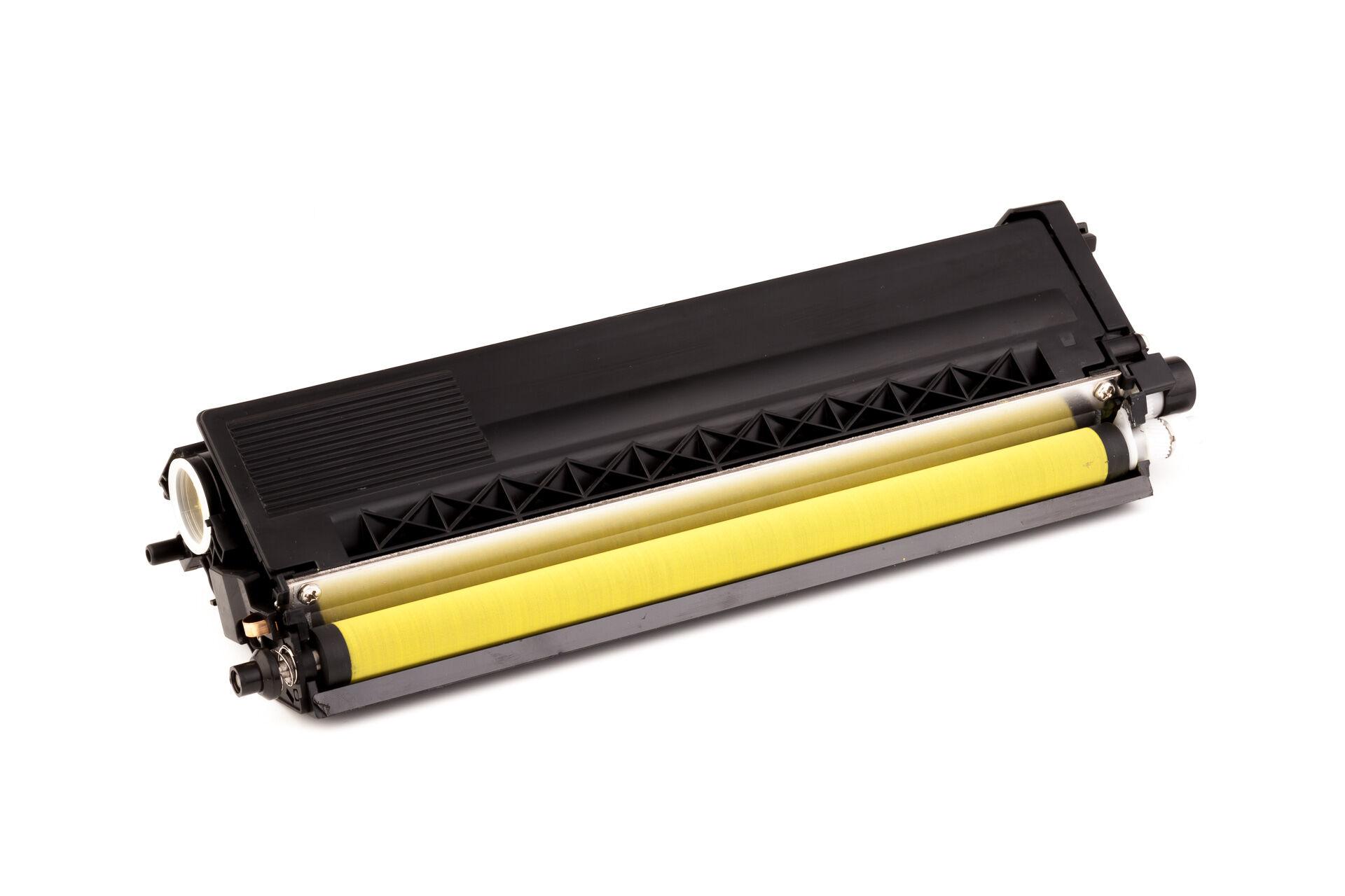 Brother Cartouche de Toner pour Brother TN328Y jaune compatible (de marque ASC)