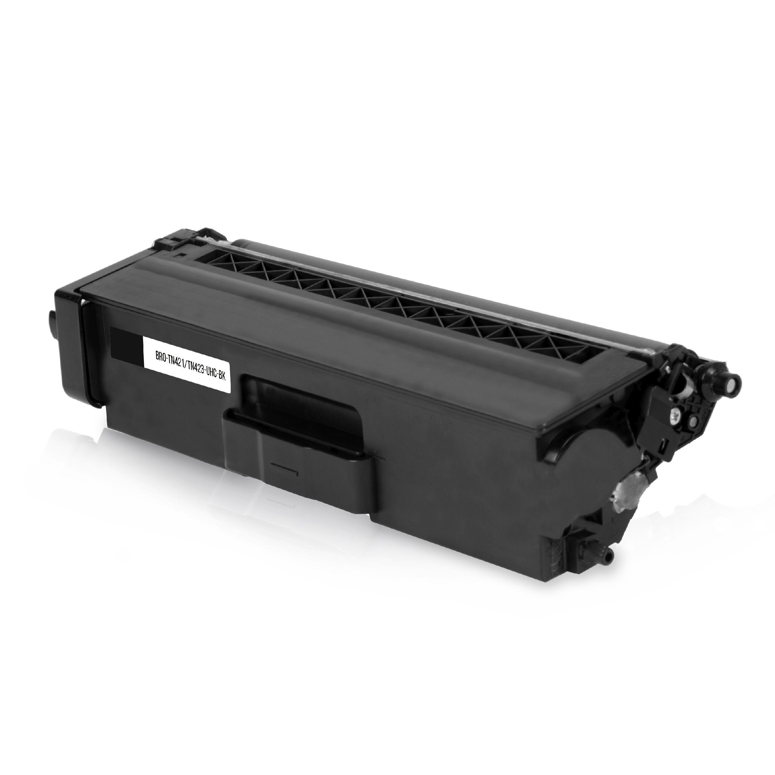BROTHER Cartouche de Toner pour BROTHER TN423BK noir compatible (de marque ASC)