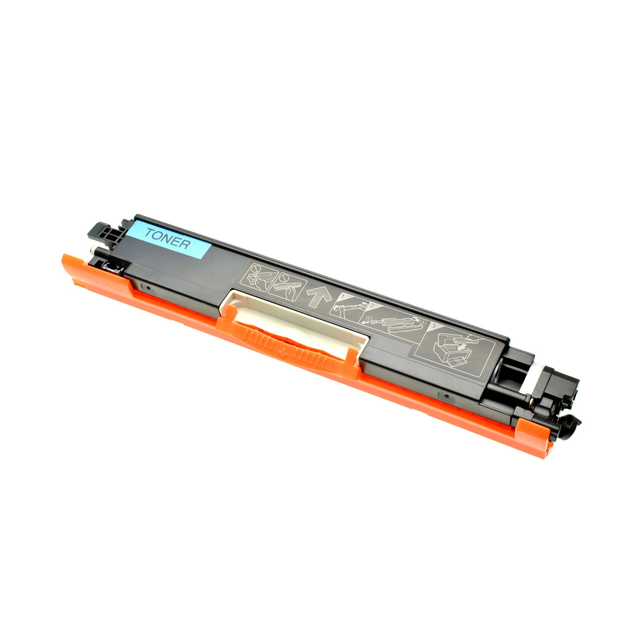 CANON Cartouche de Toner pour CANON 4369B002 / 729 C cyan compatible (de marque ASC)