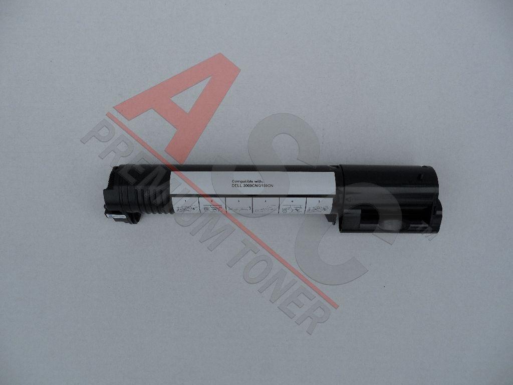 Dell Cartouche de Toner pour Dell 59310067 / K4971 noir compatible (de marque ASC)