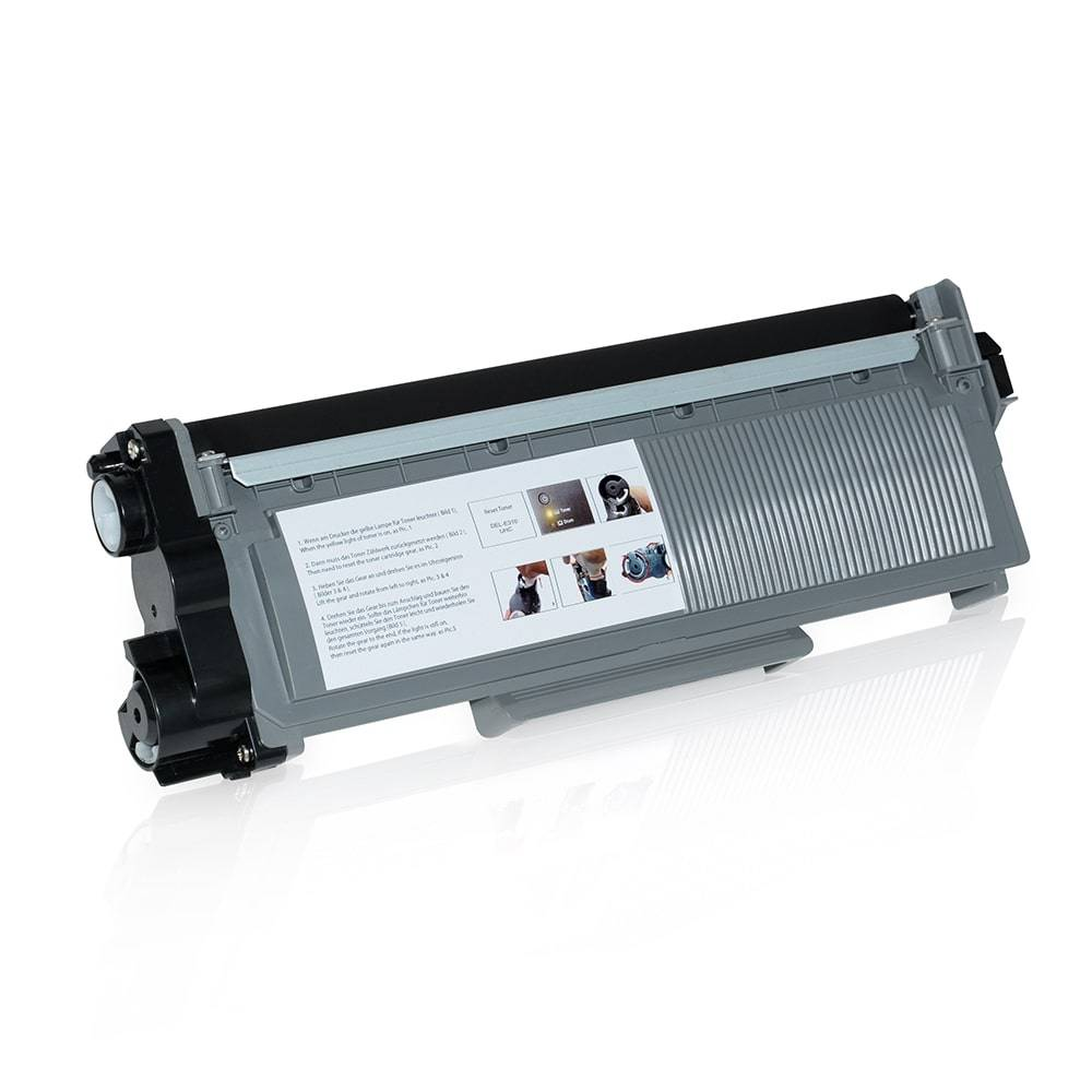 Dell Cartouche de Toner pour Dell 593BBLH / PVTHG noir compatible (de marque ASC)