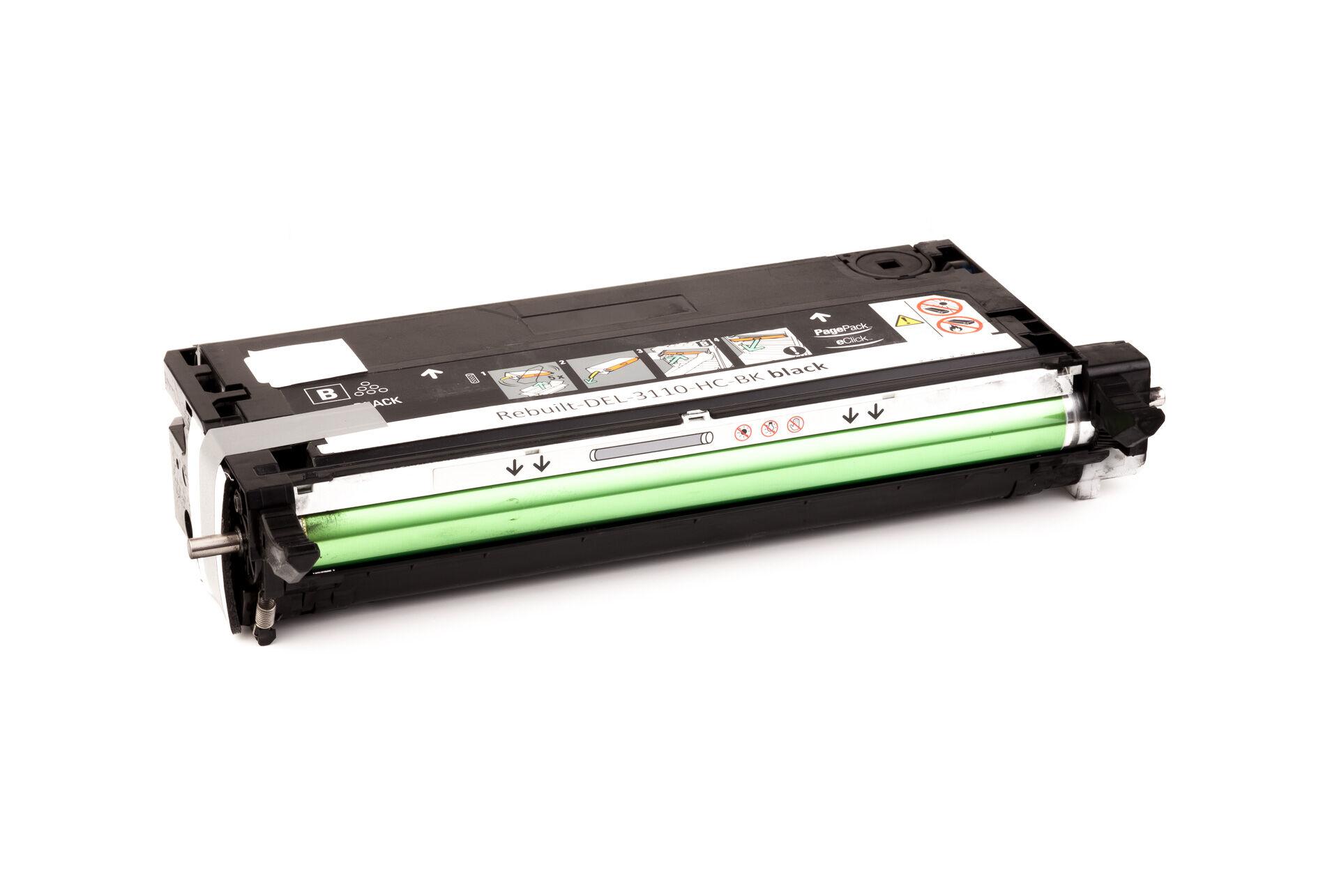 Dell Cartouche de Toner pour Dell 59310170 / PF030 noir compatible (de marque ASC)