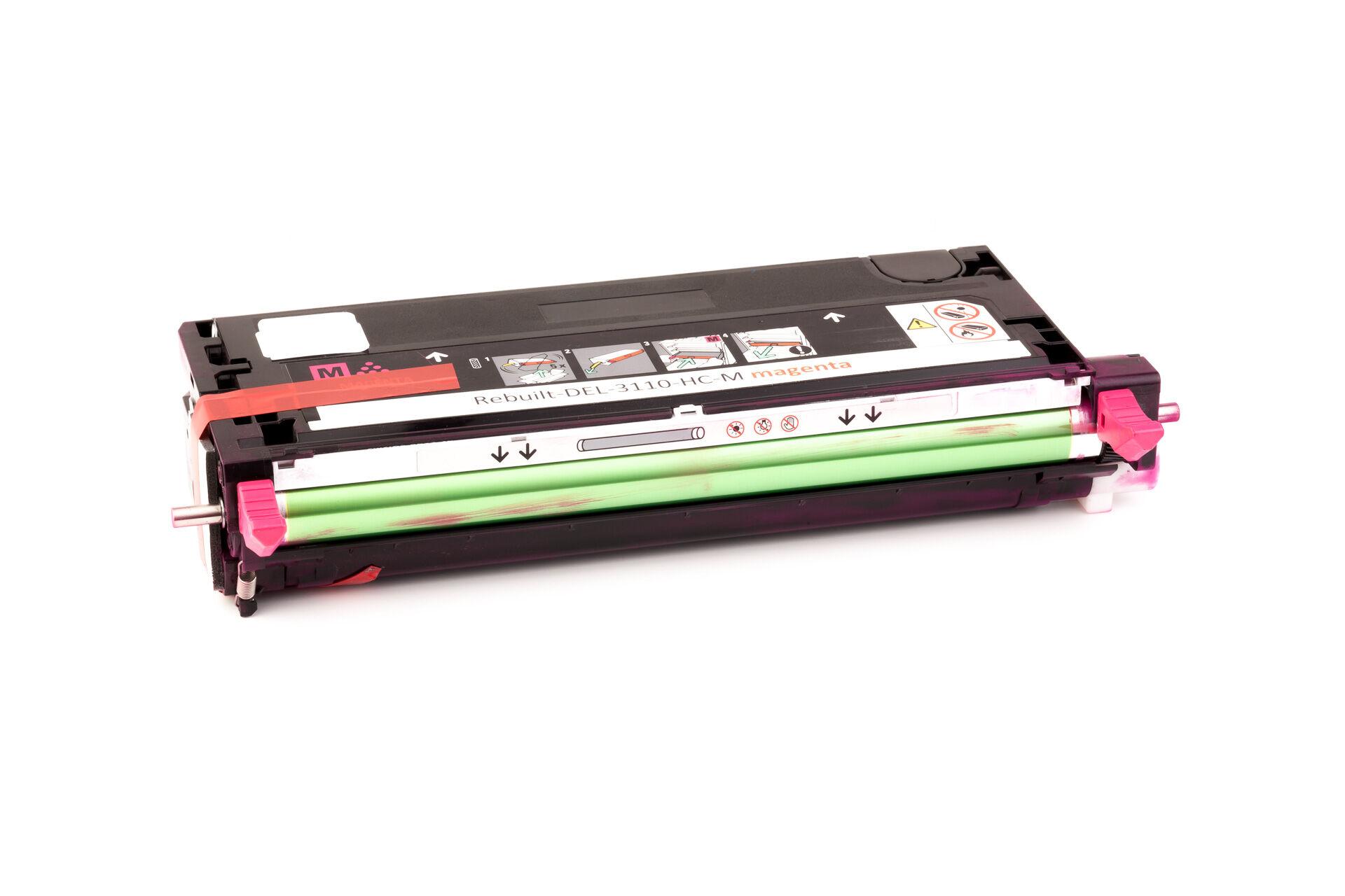 Dell Cartouche de Toner pour Dell 59310172 / RF013 magenta compatible (de marque ASC)