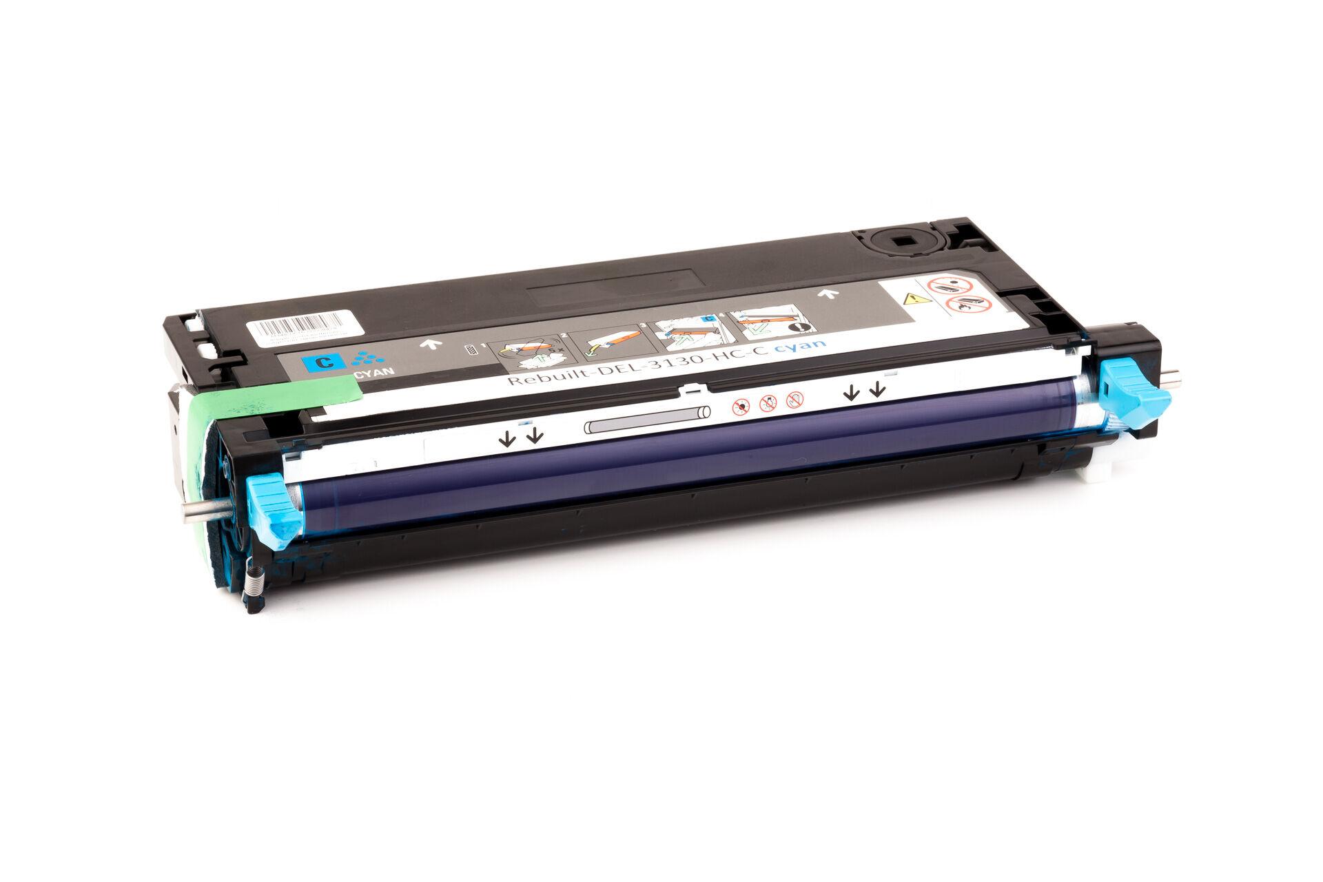 Dell Cartouche de Toner pour Dell 59310290 / H513C cyan compatible (de marque ASC)