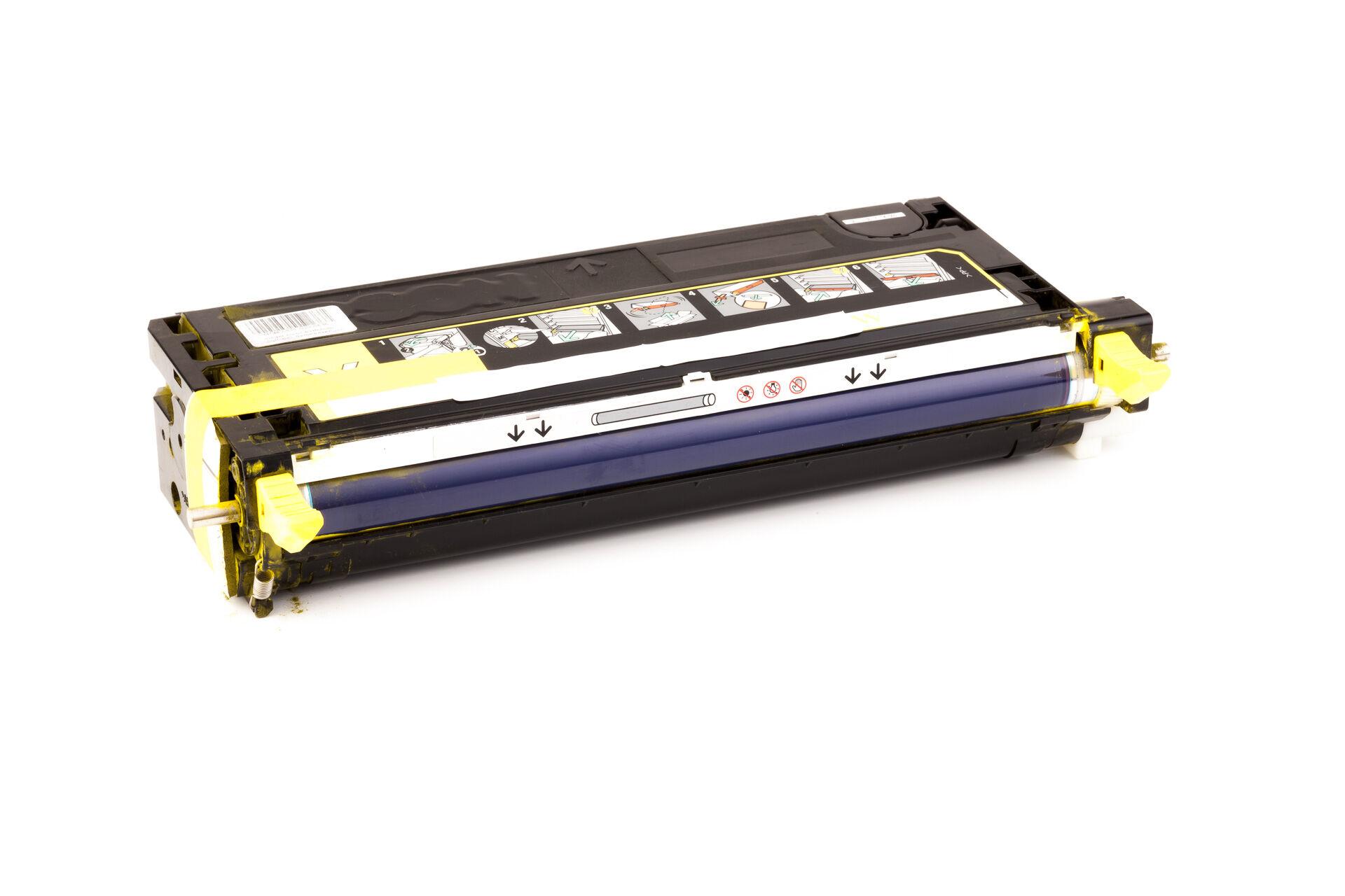 Dell Cartouche de Toner pour Dell 59310291 / H515C jaune compatible (de marque ASC)