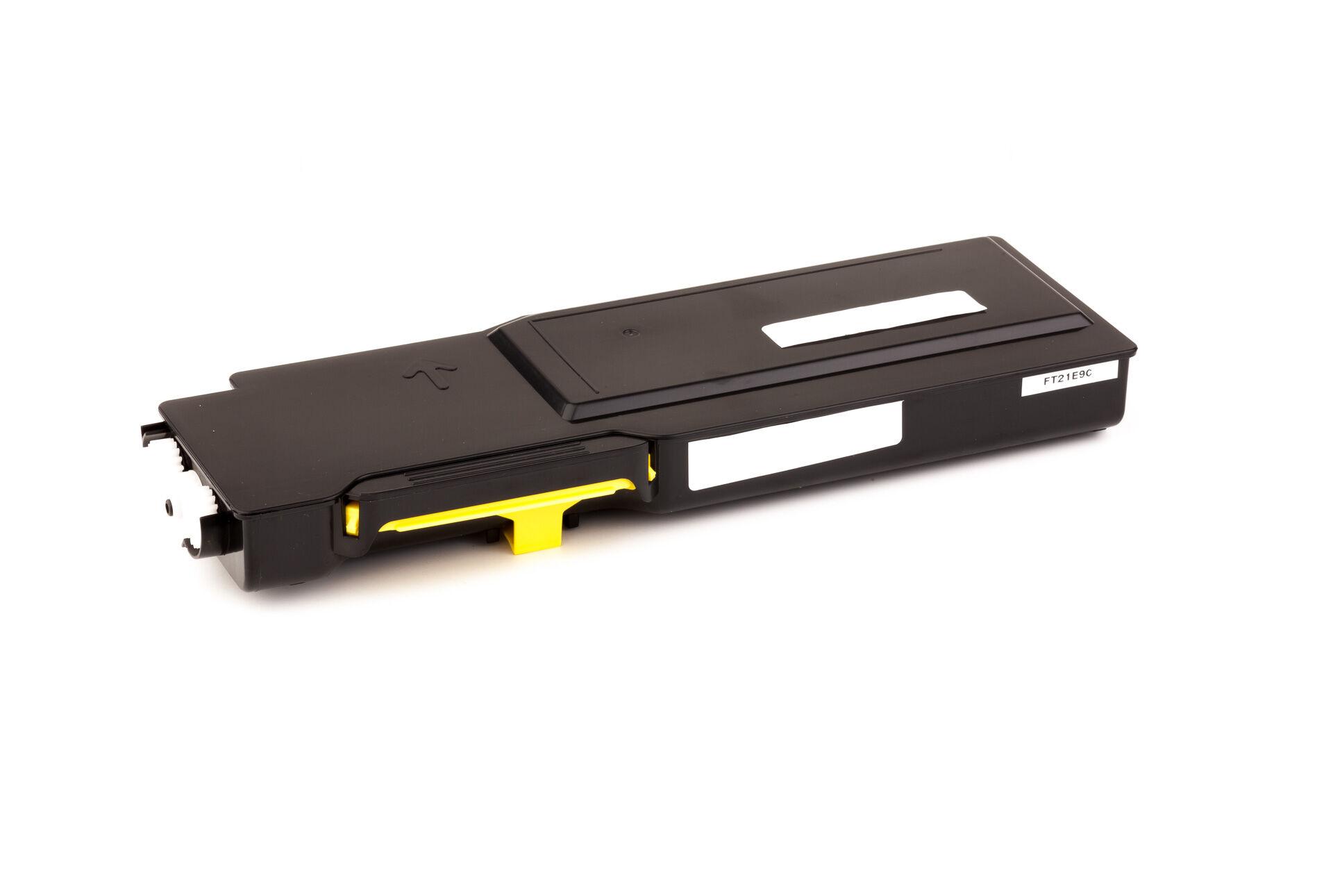 Dell Cartouche de Toner pour Dell 59311116 / KGGK4 jaune compatible (de marque ASC)