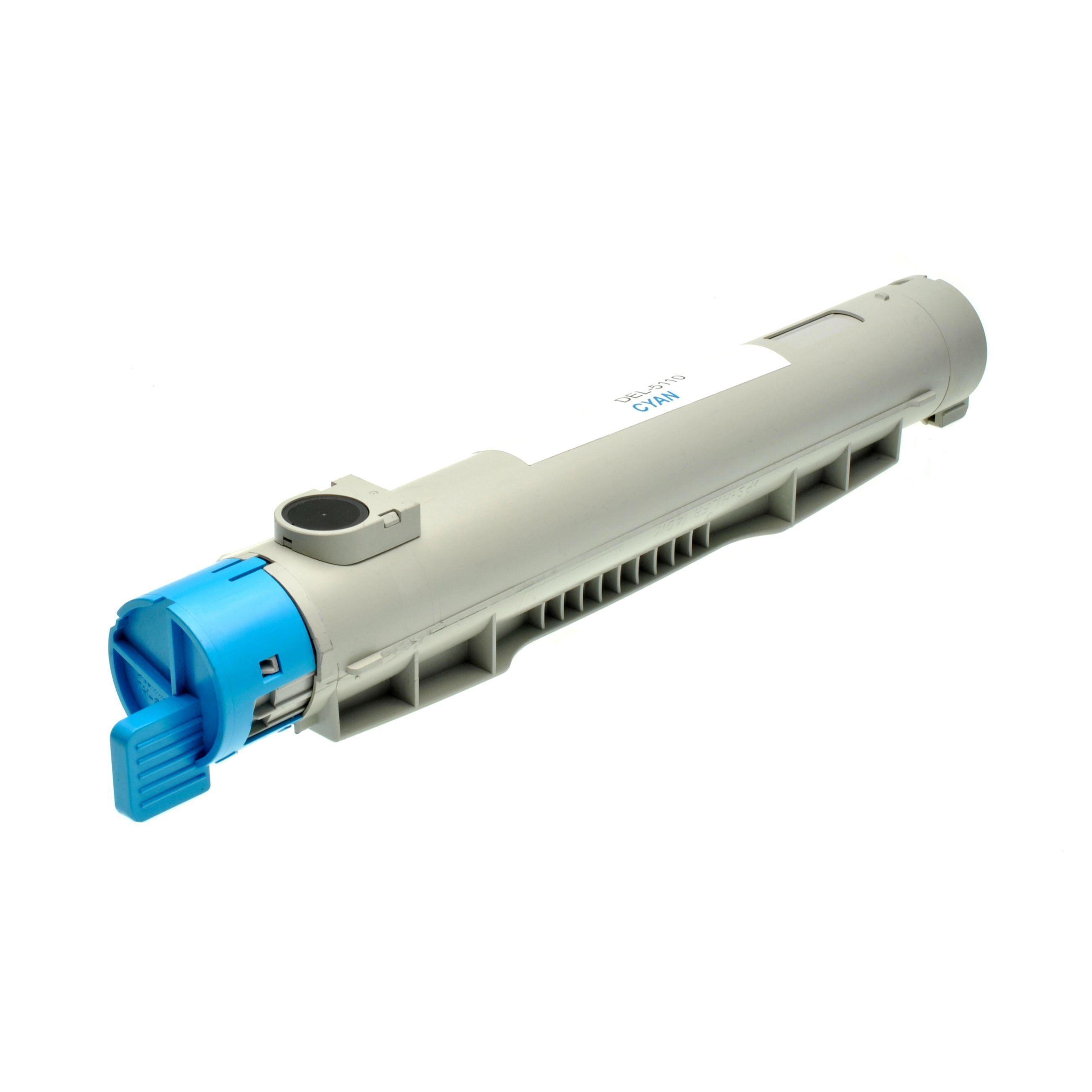 Dell Cartouche de Toner pour Dell 59310118 / GD907 cyan compatible (de marque ASC)